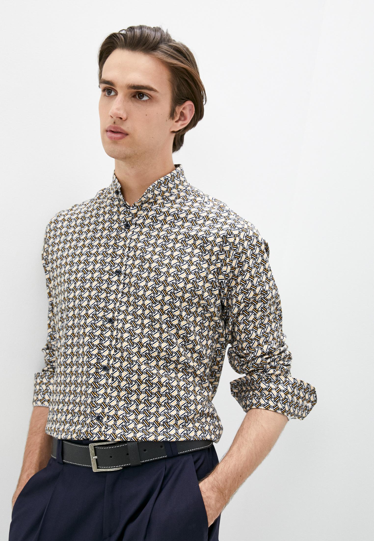 Рубашка с длинным рукавом Alessandro Dell`acqua AD4203 M0168