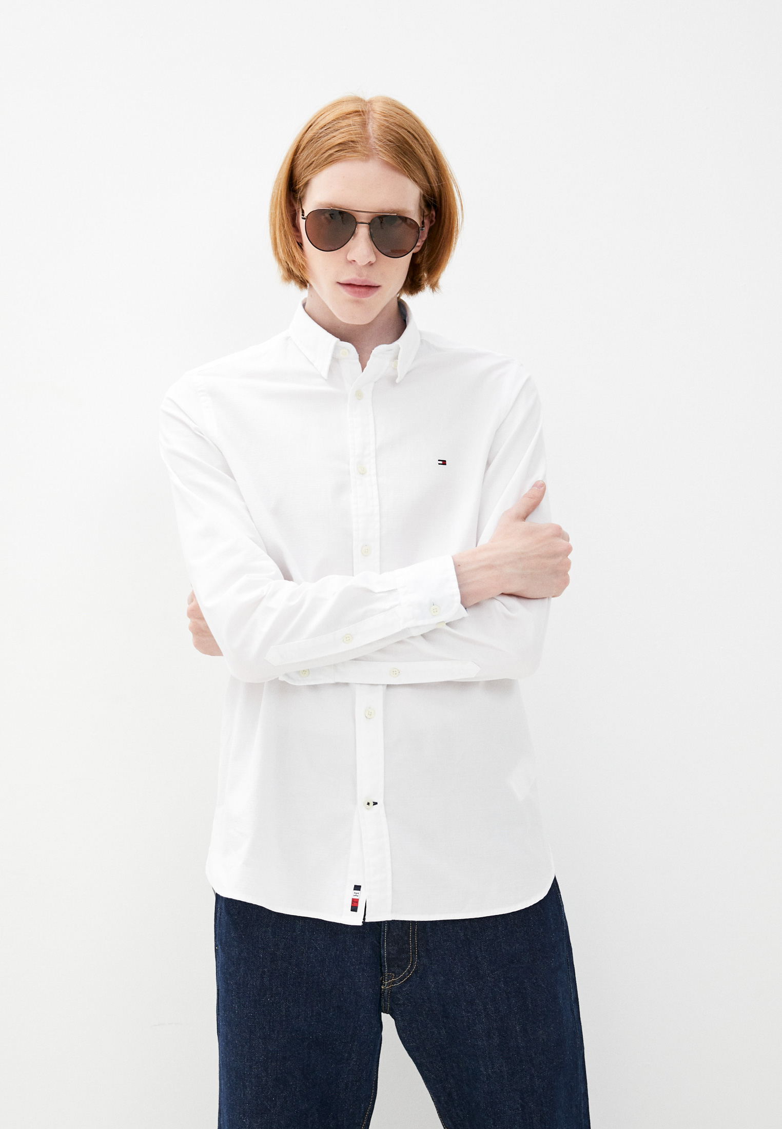 Рубашка с длинным рукавом Tommy Hilfiger (Томми Хилфигер) MW0MW18878