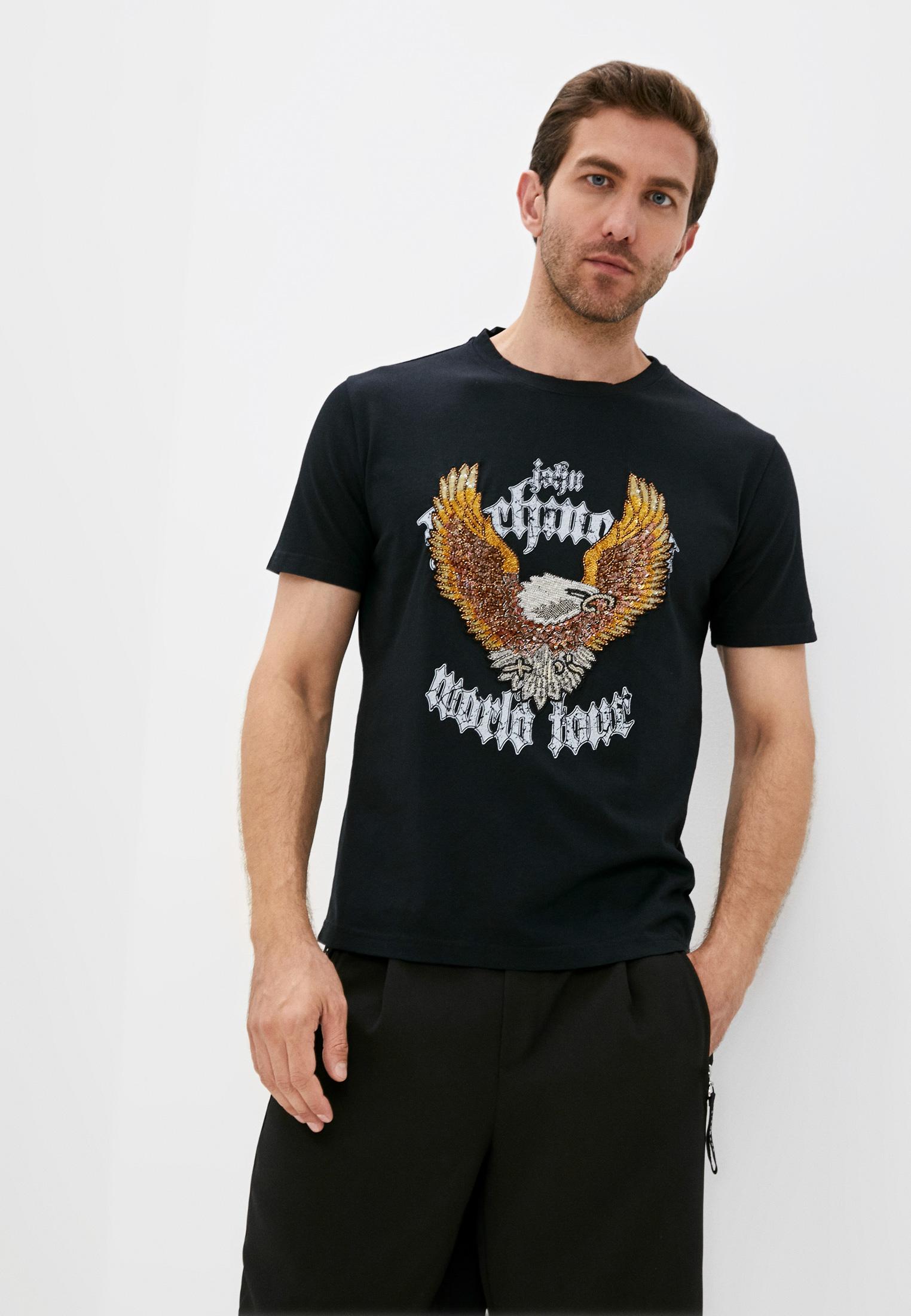 Мужская футболка Richmond (Ричмонд) RMP20043TS