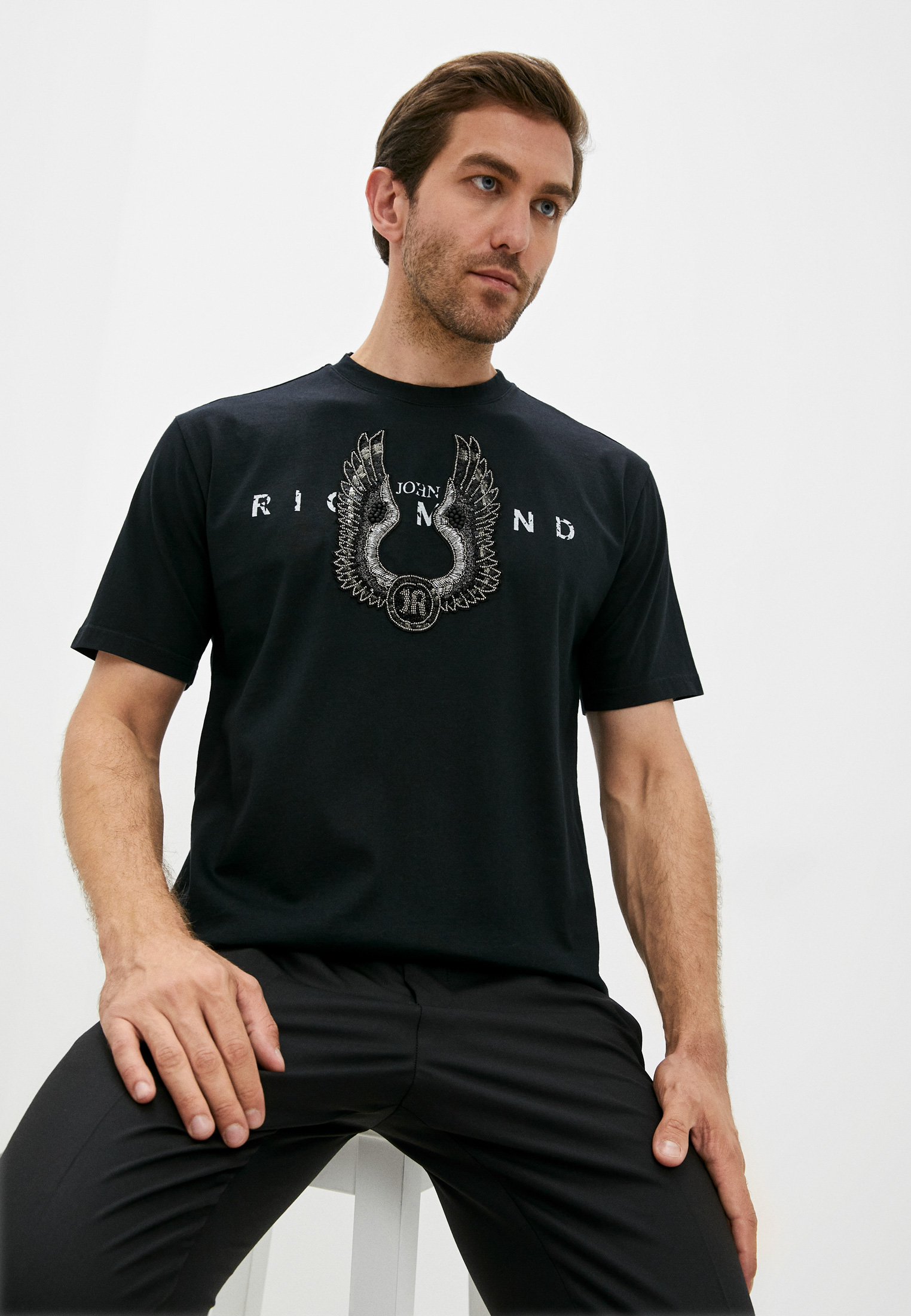 Мужская футболка Richmond (Ричмонд) RMP20044TS