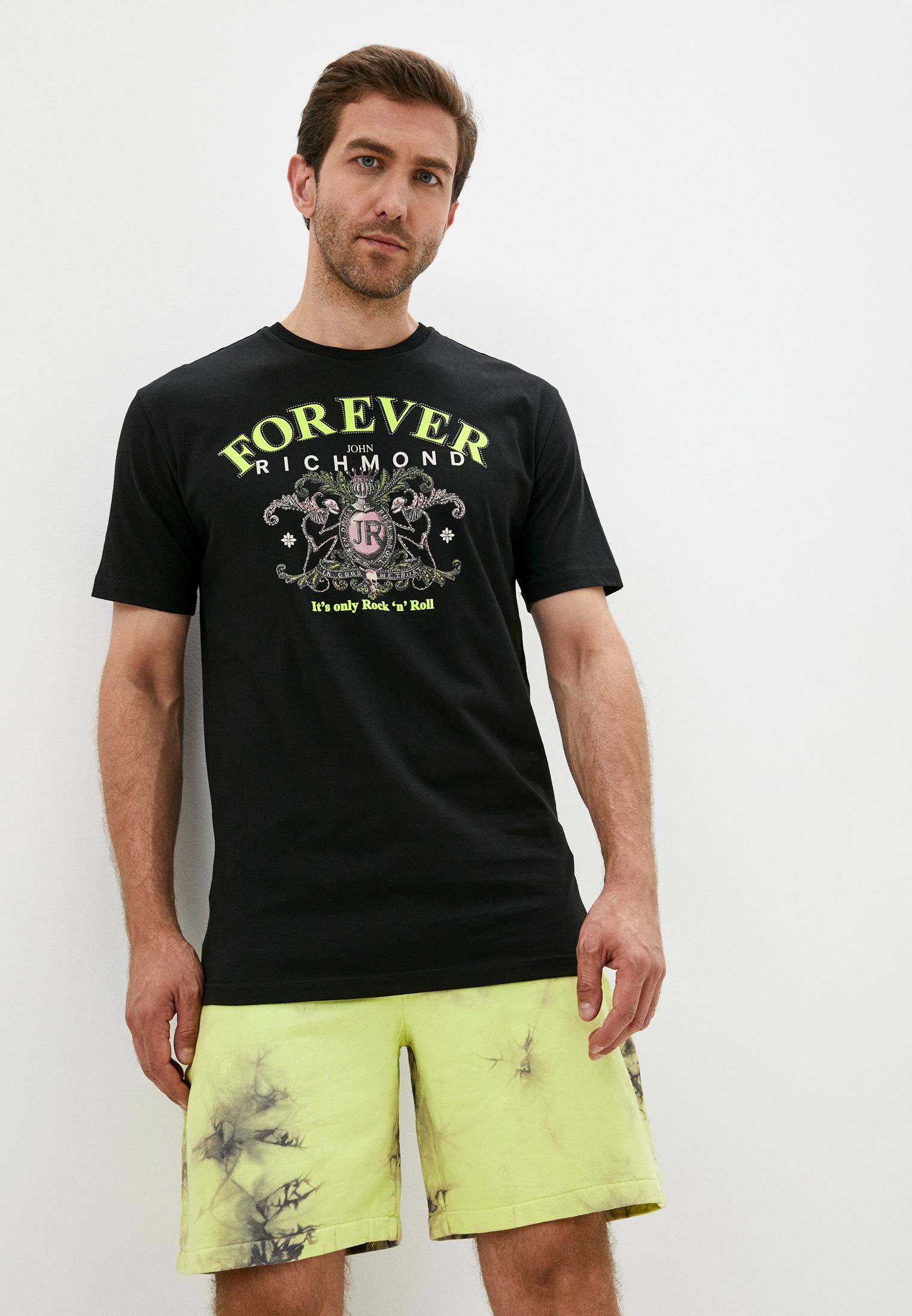 Мужская футболка Richmond (Ричмонд) RMP20076TS