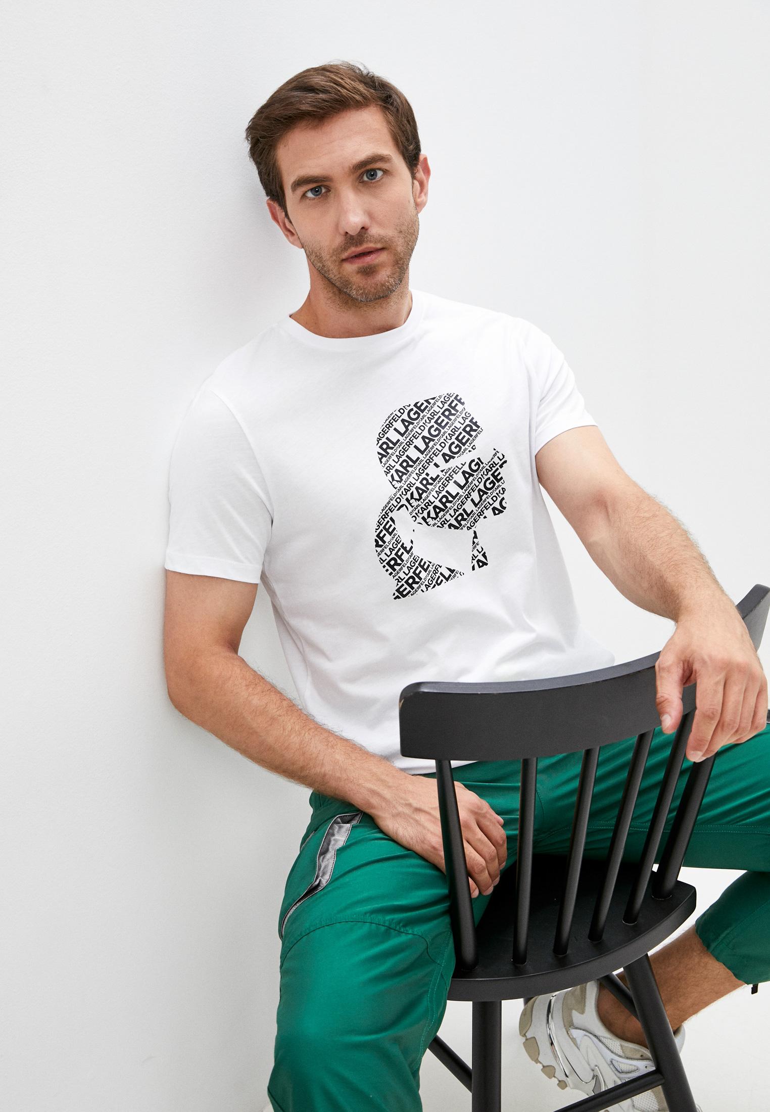 Мужская футболка Karl Lagerfeld (Карл Лагерфельд) 512224-755046