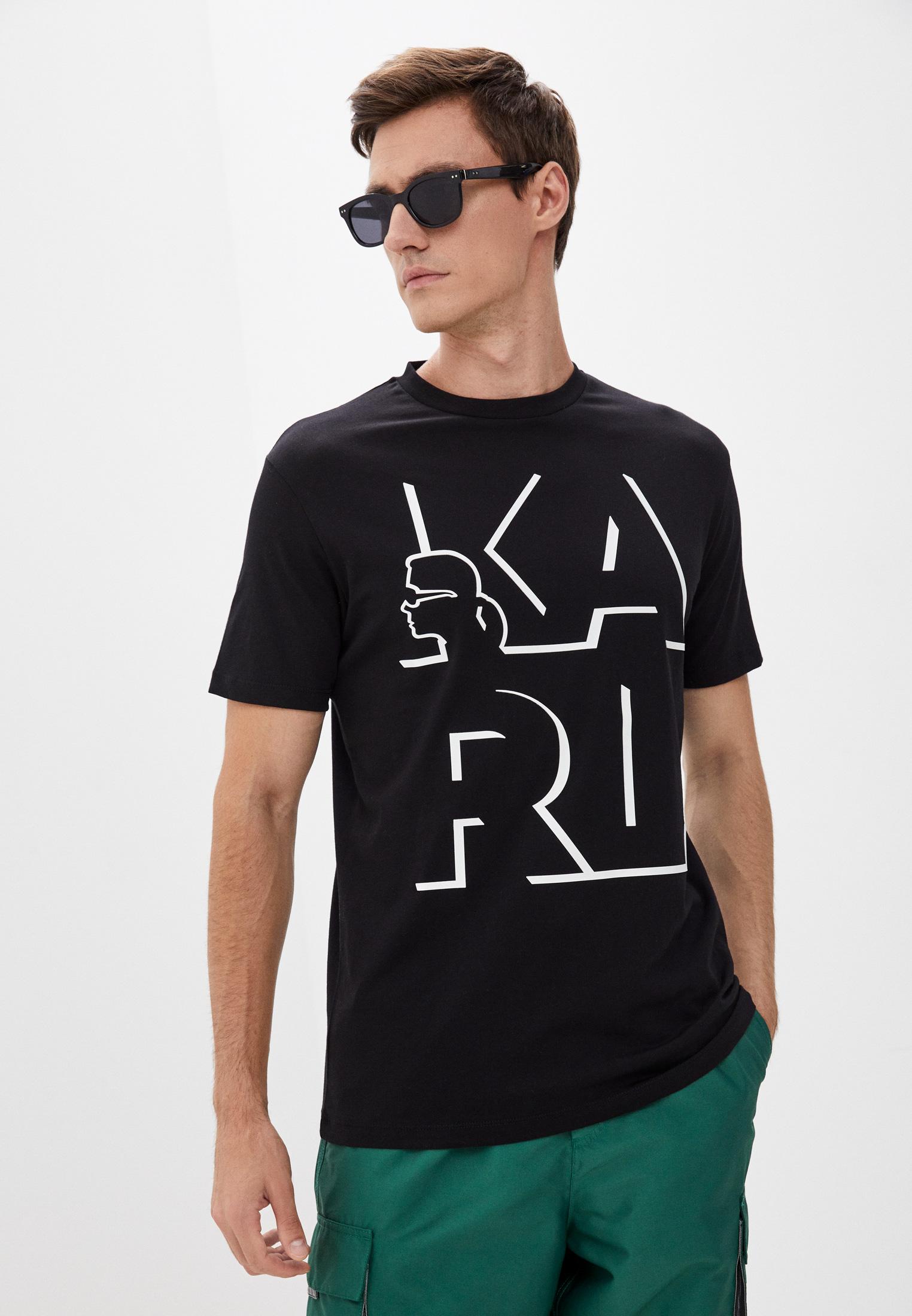 Мужская футболка Karl Lagerfeld (Карл Лагерфельд) 512224-755100