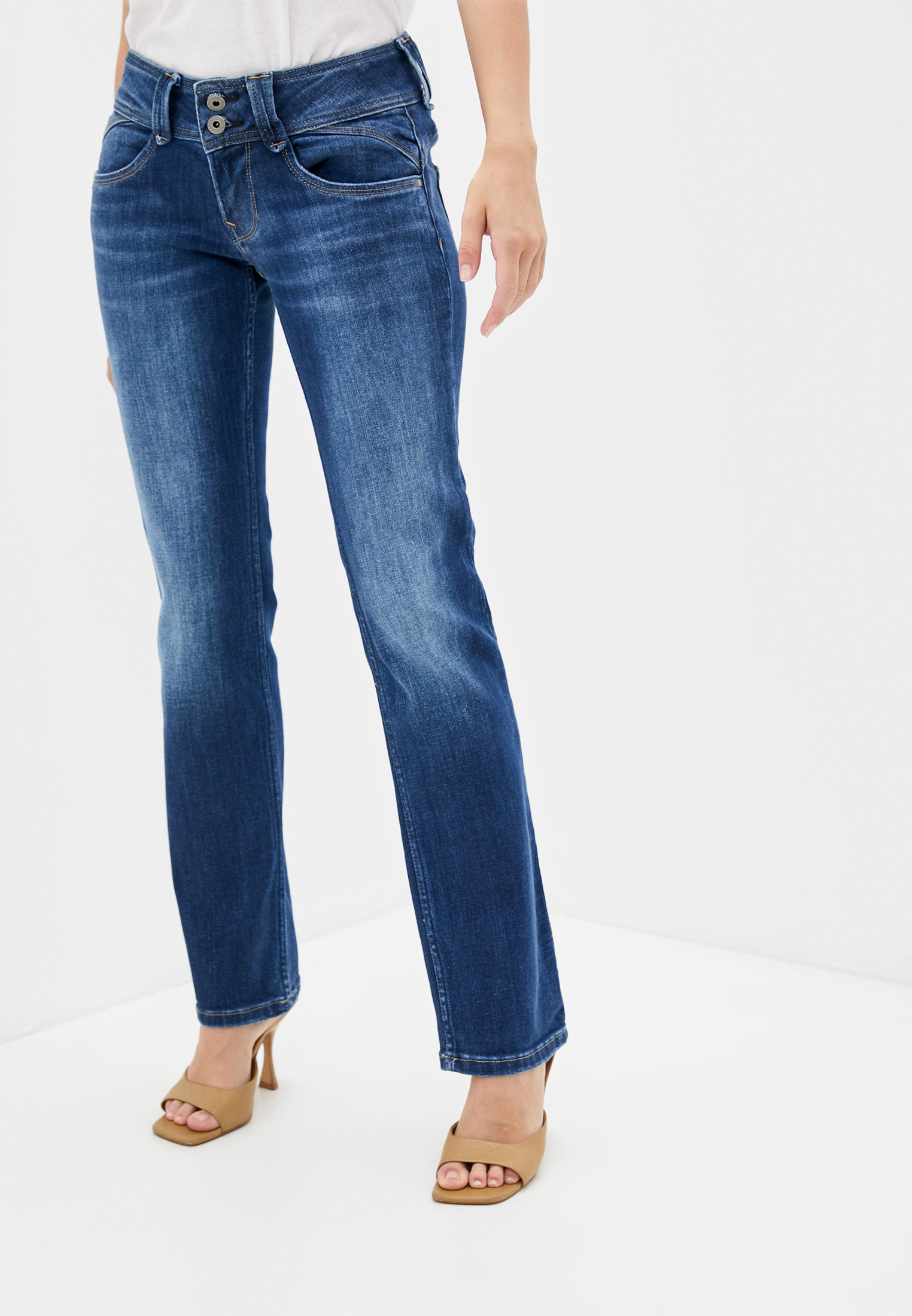 Прямые джинсы Pepe Jeans (Пепе Джинс) Джинсы Pepe Jeans