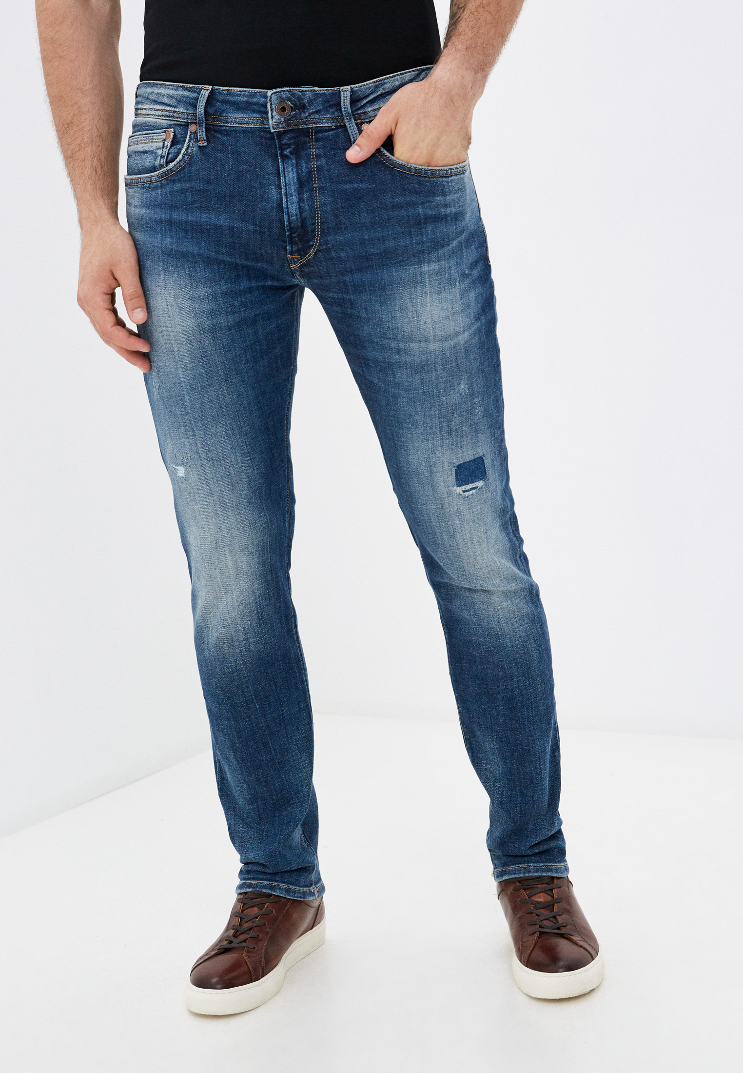 Зауженные джинсы Pepe Jeans (Пепе Джинс) PM201705RF4