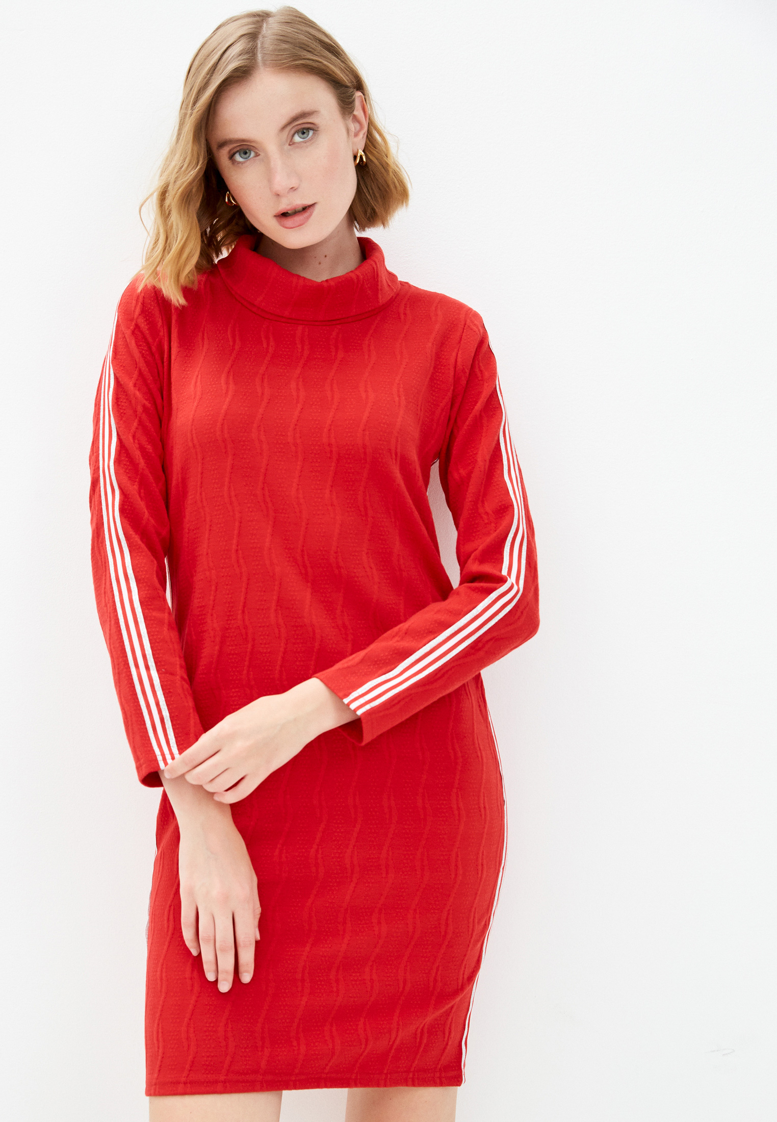 Вязаное платье Pink Orange PO21-0313-2351-1