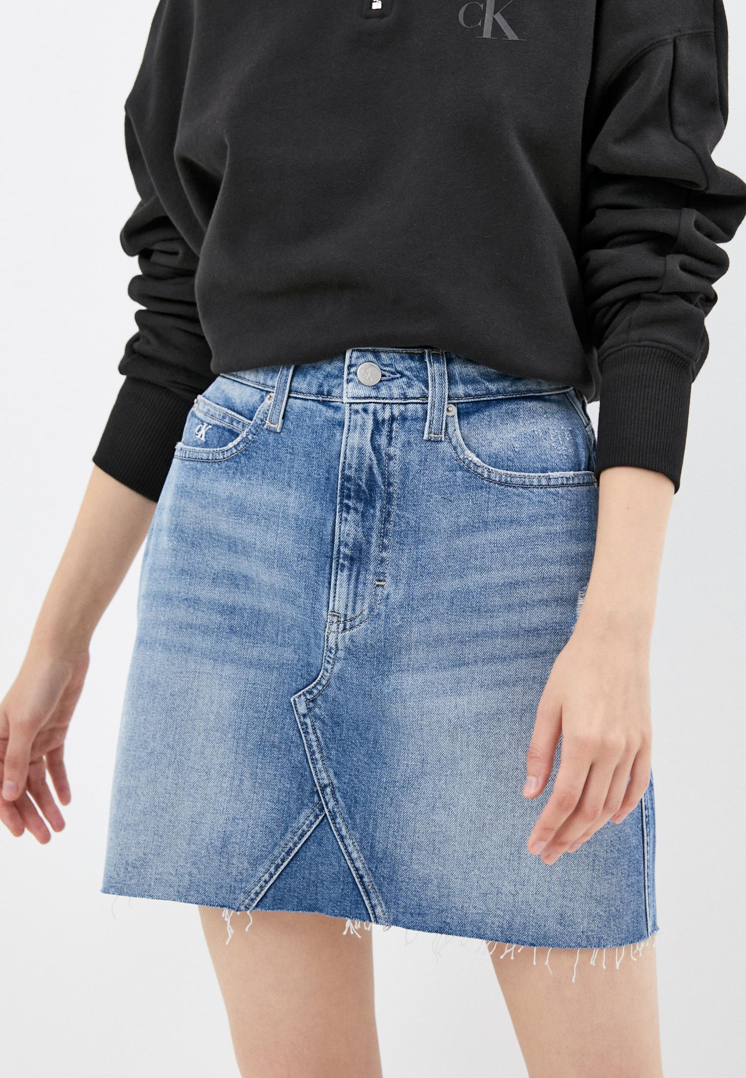Джинсовая юбка Calvin Klein Jeans J20J216510: изображение 1