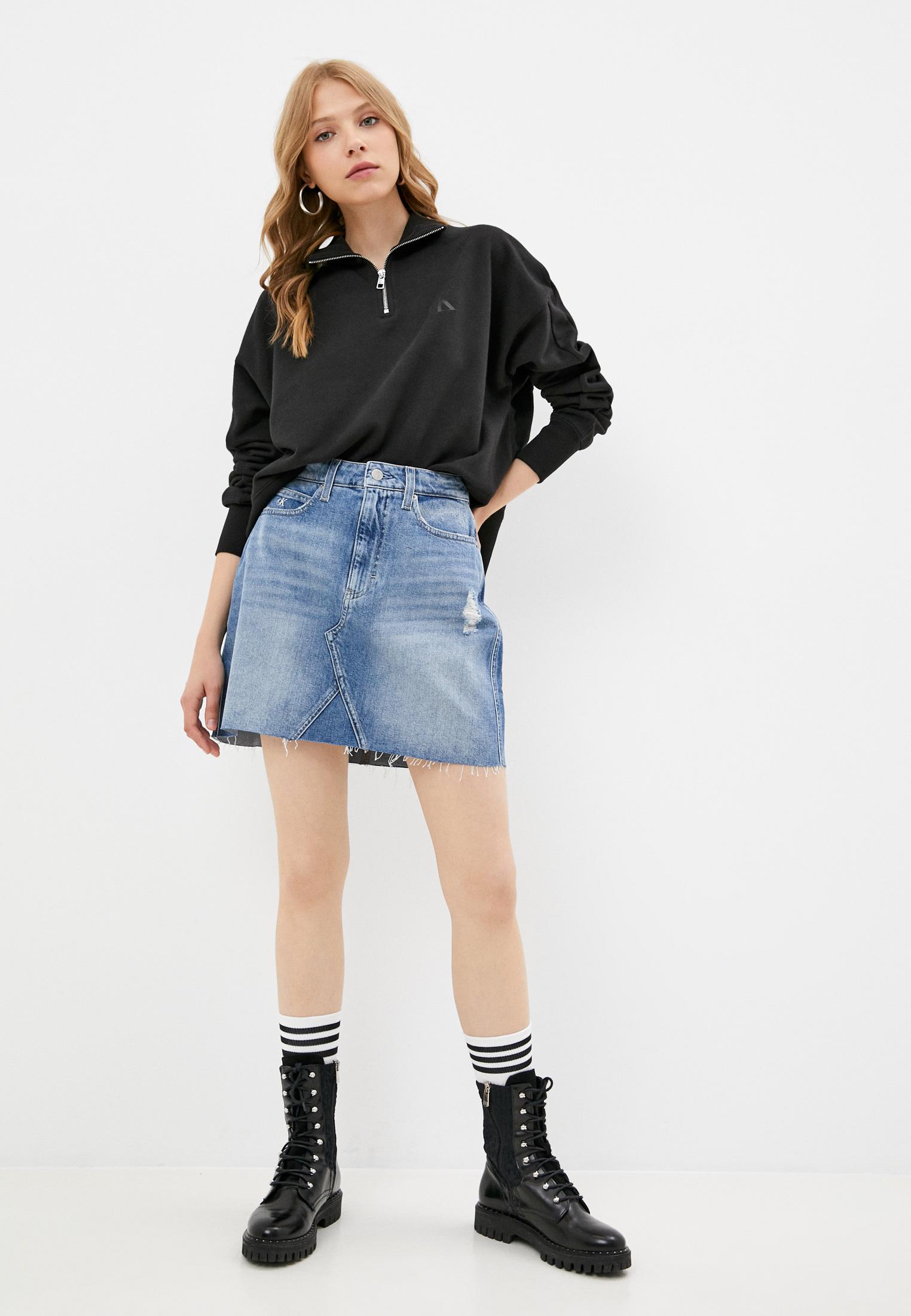 Джинсовая юбка Calvin Klein Jeans J20J216510: изображение 2
