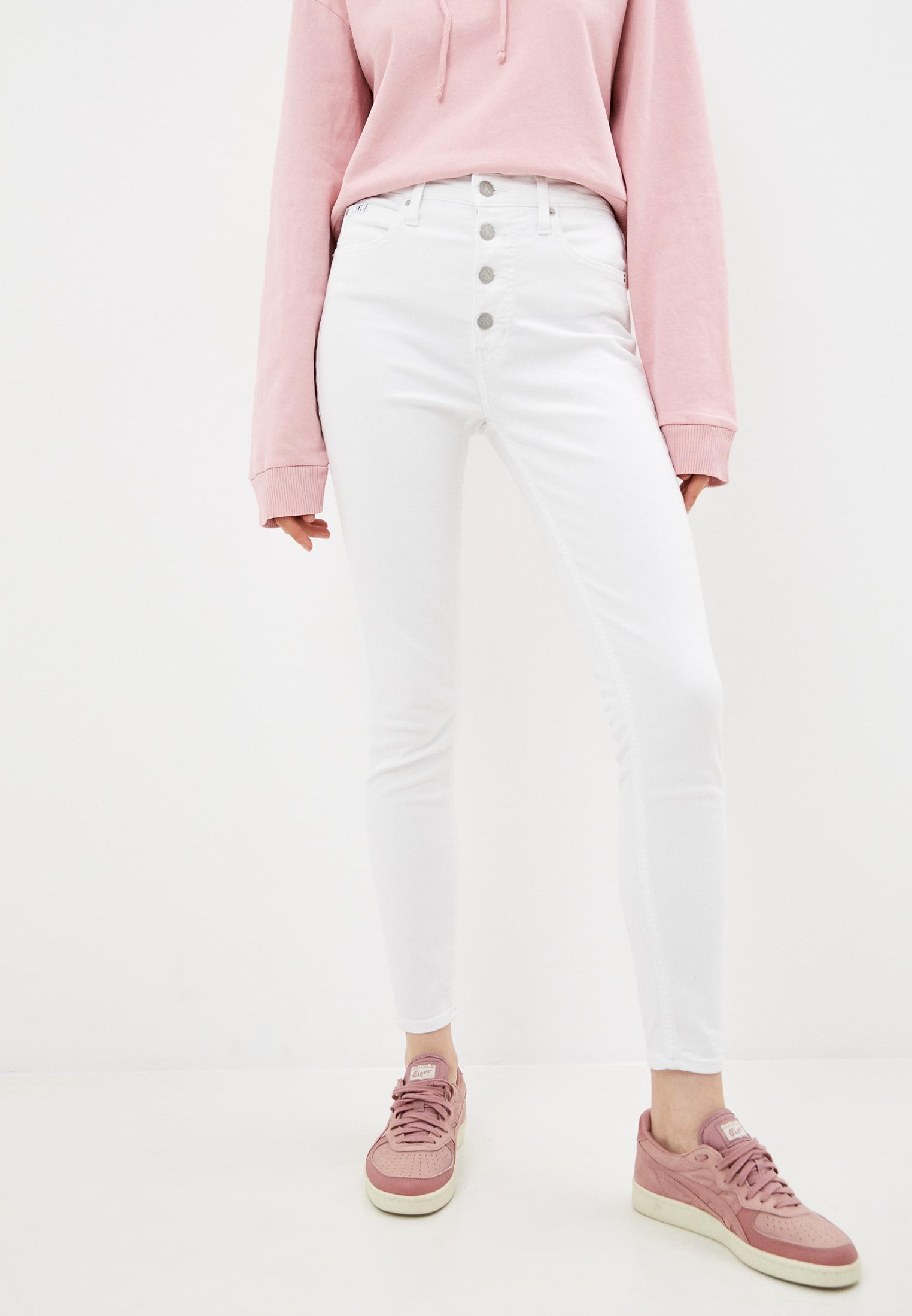 Зауженные джинсы Calvin Klein Jeans J20J217153: изображение 1