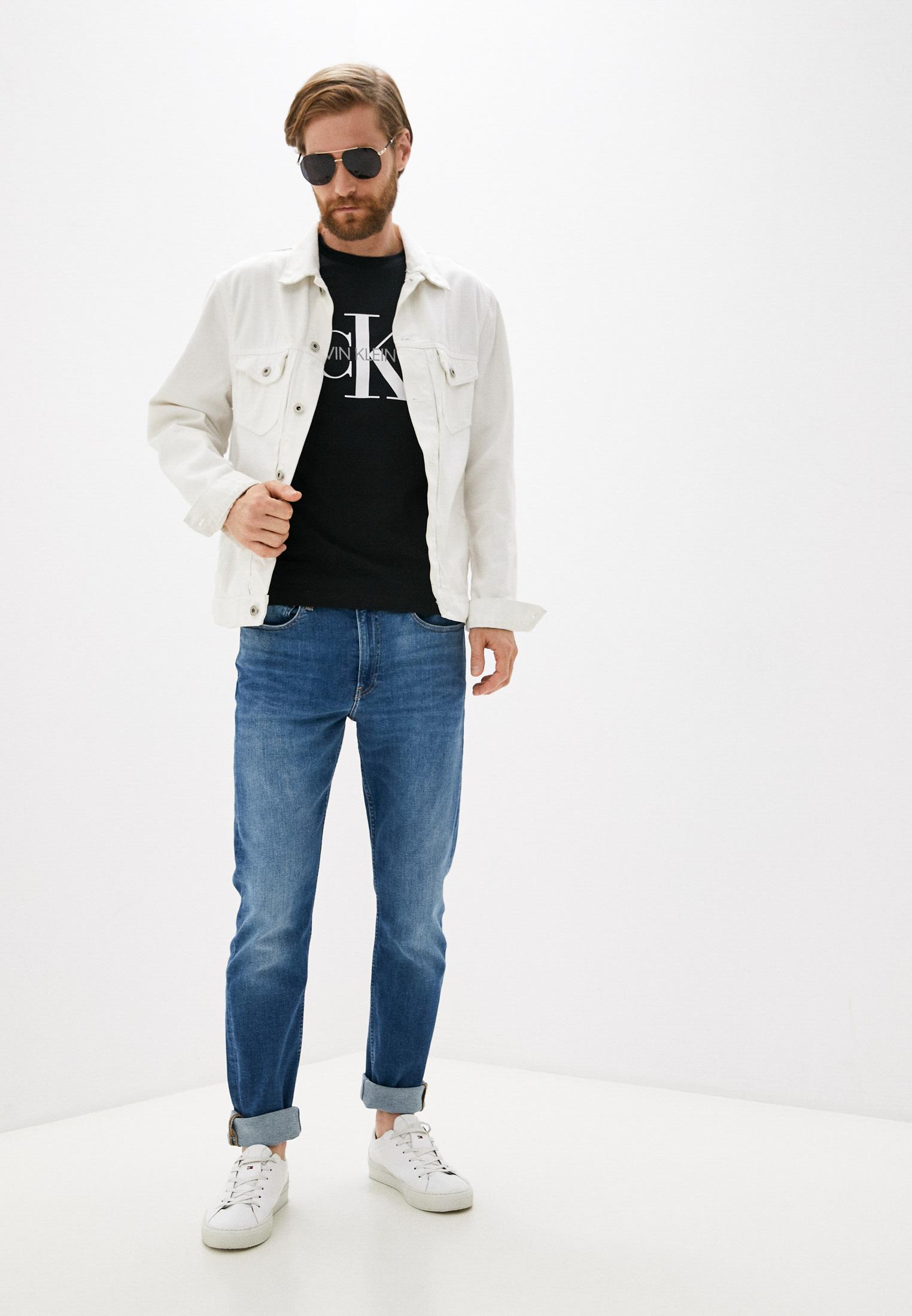 Зауженные джинсы Calvin Klein Jeans J30J318421: изображение 2