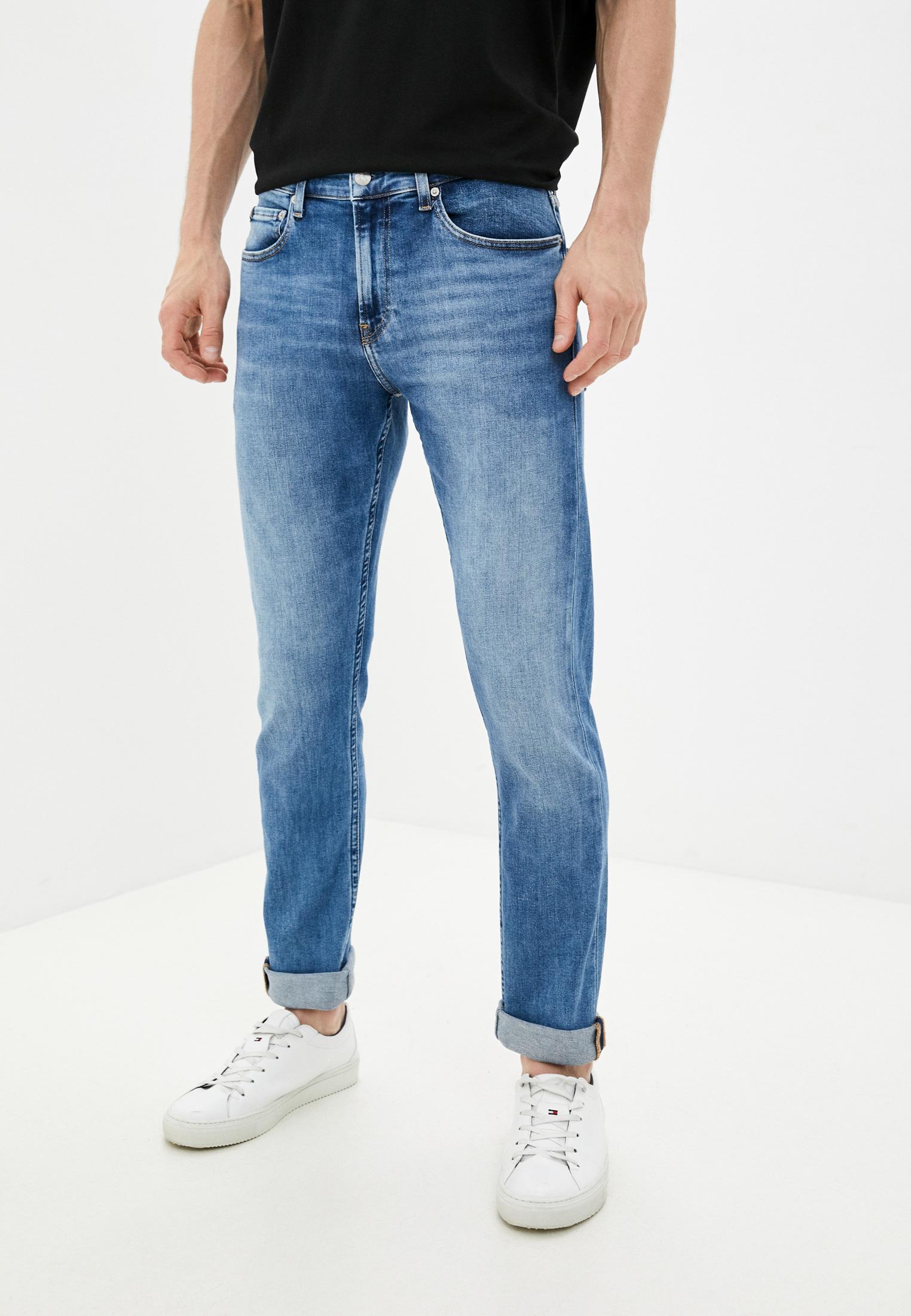 Зауженные джинсы Calvin Klein Jeans J30J318439: изображение 1