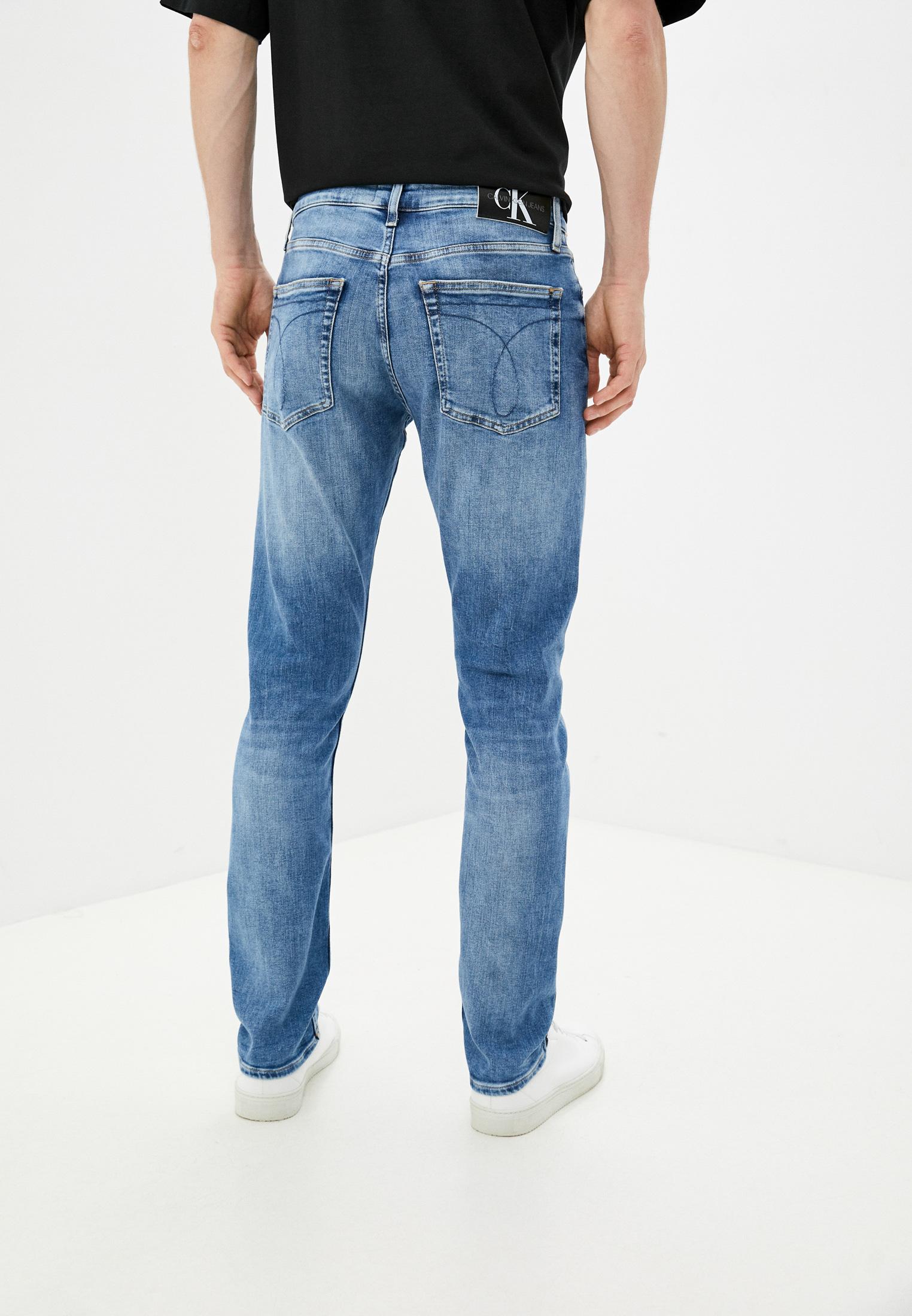 Зауженные джинсы Calvin Klein Jeans J30J318439: изображение 3