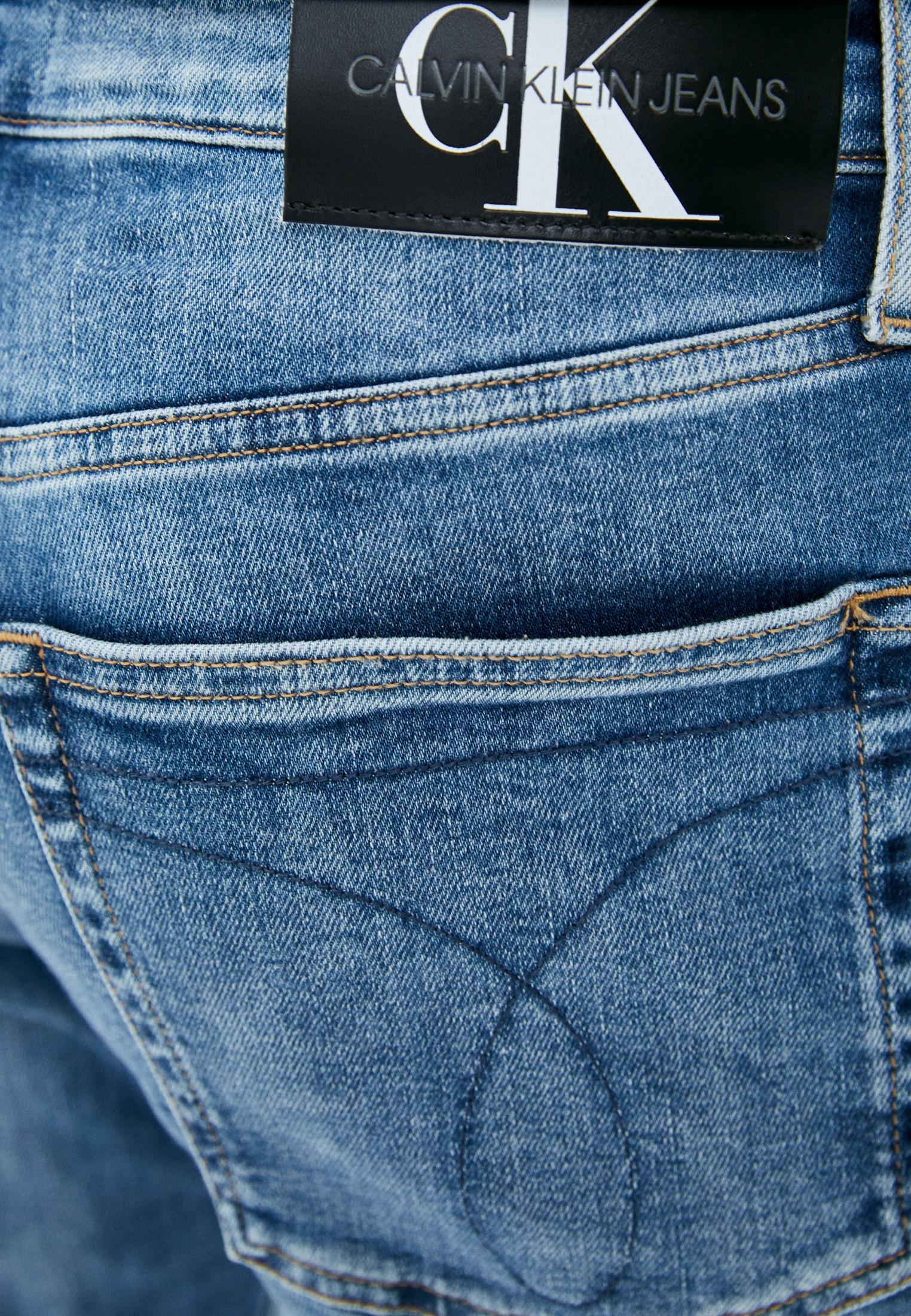 Зауженные джинсы Calvin Klein Jeans J30J318439: изображение 4