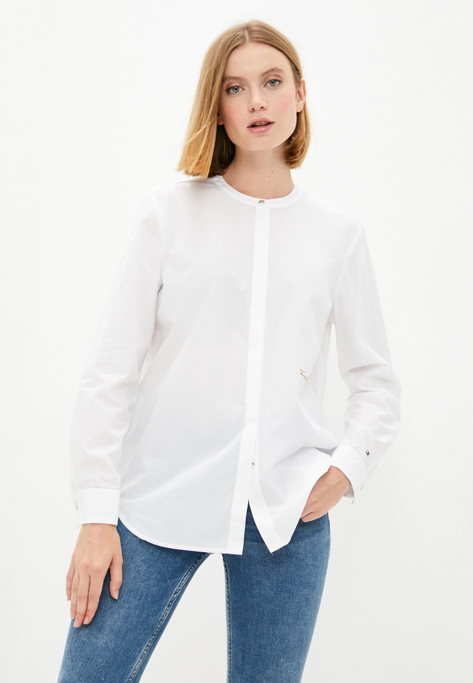 Женские рубашки с длинным рукавом Tommy Hilfiger (Томми Хилфигер) WW0WW31008