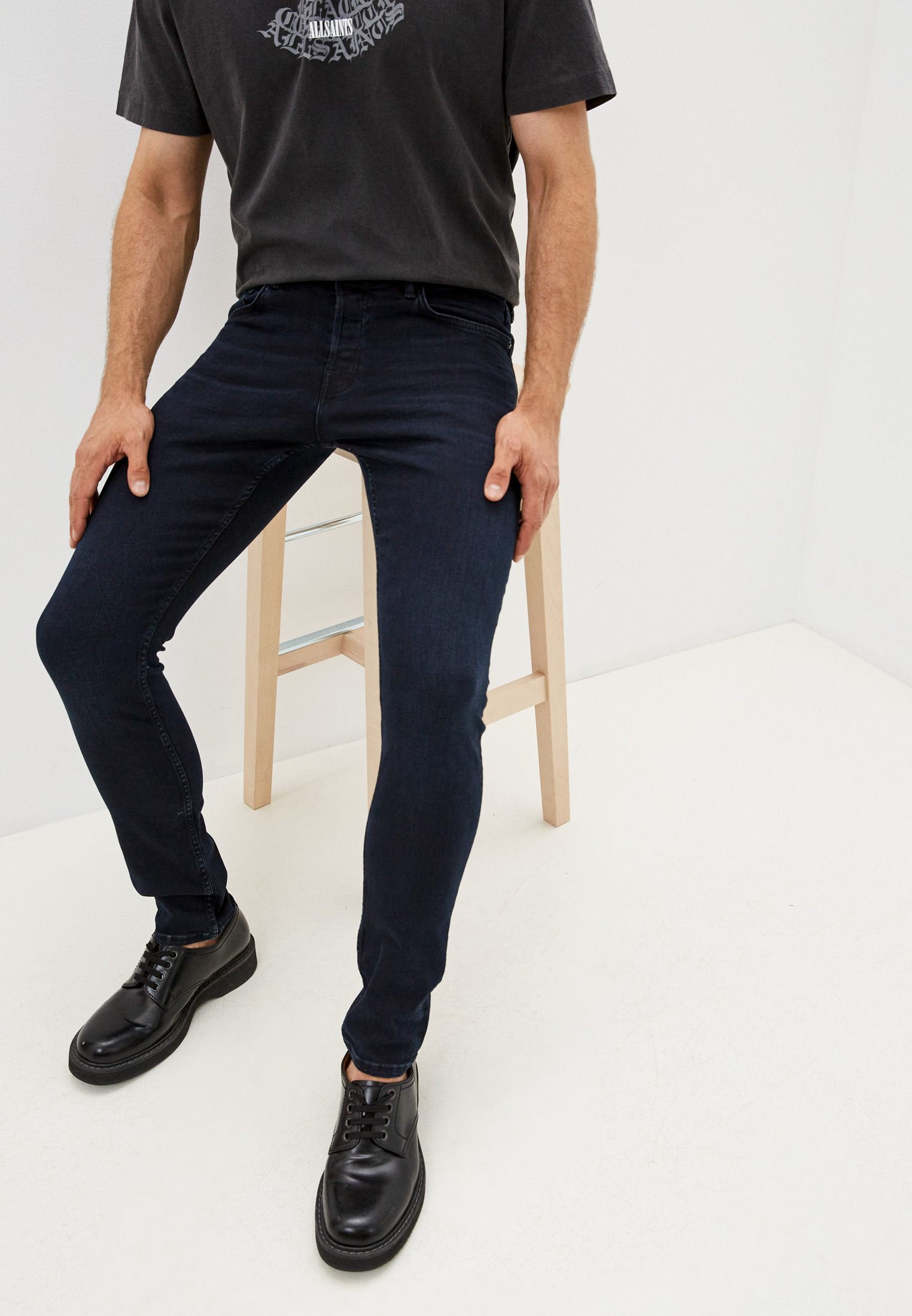 Зауженные джинсы AllSaints Джинсы AllSaints