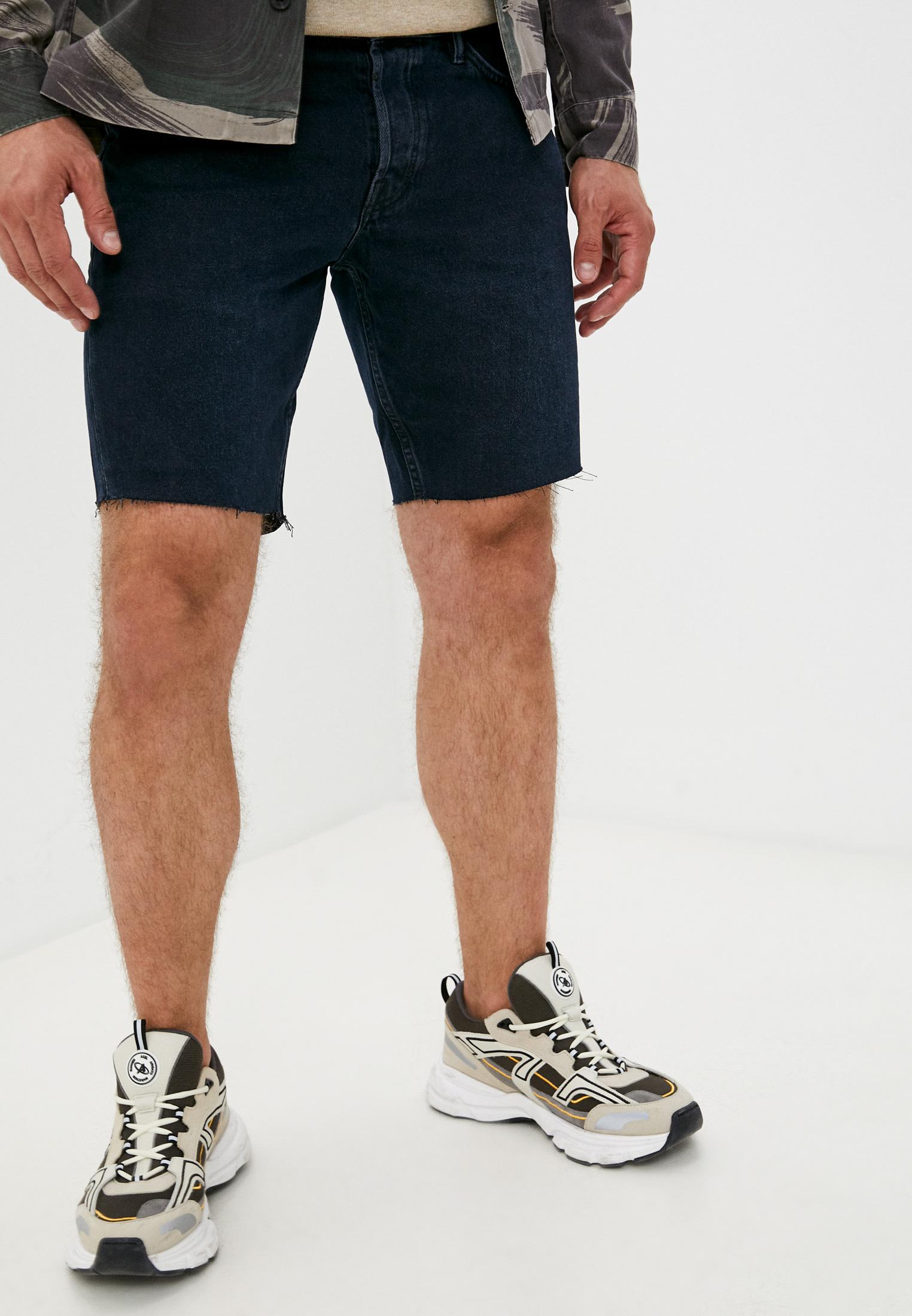 Мужские джинсовые шорты AllSaints Шорты джинсовые AllSaints