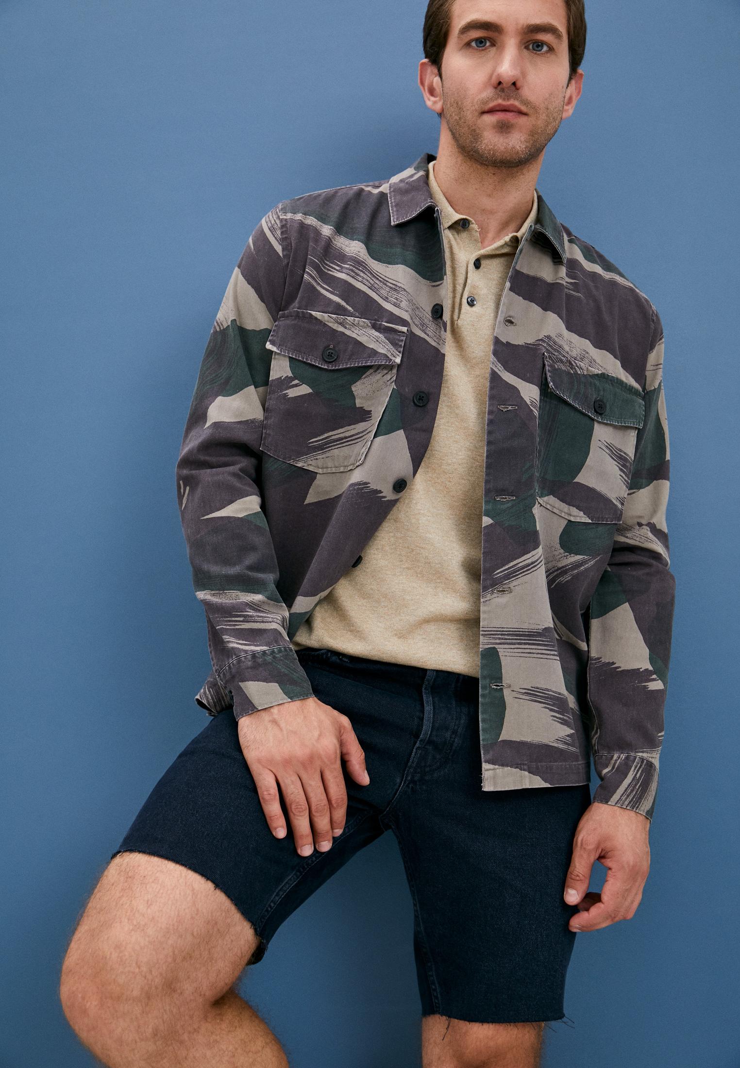 Мужские джинсовые шорты AllSaints ME025U: изображение 2