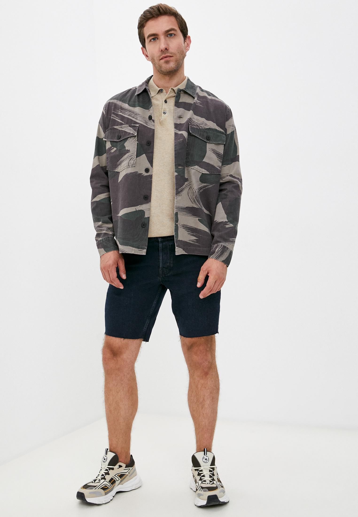 Мужские джинсовые шорты AllSaints ME025U: изображение 3