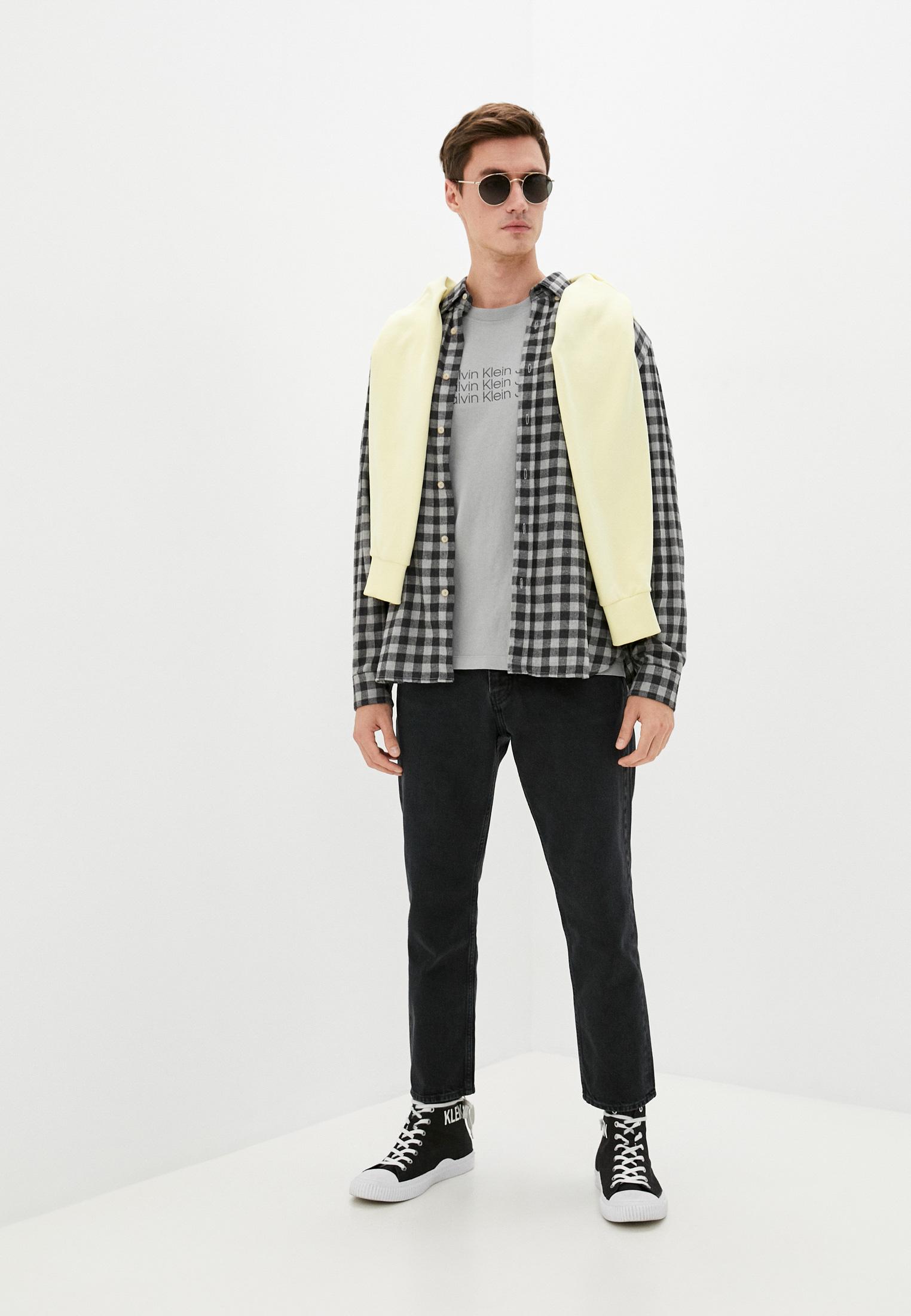 Зауженные джинсы Calvin Klein Jeans J30J317729: изображение 2