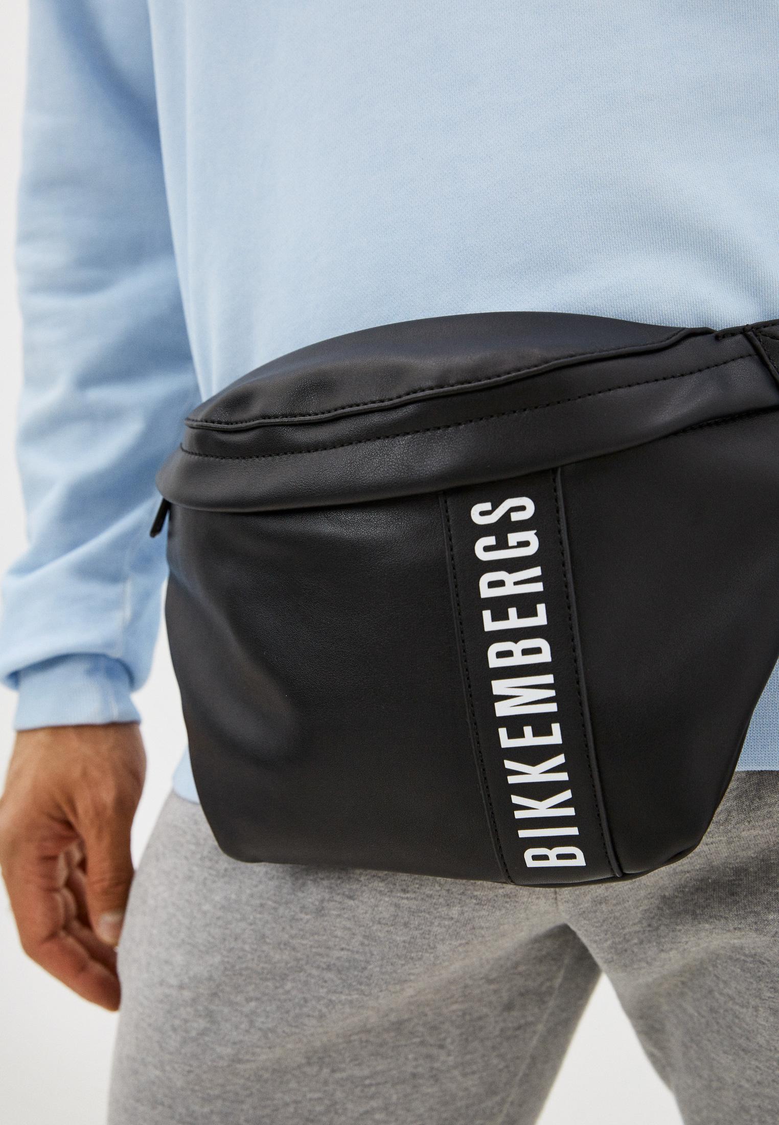 Поясная сумка Bikkembergs (Биккембергс) E2BPME4A0052999: изображение 12