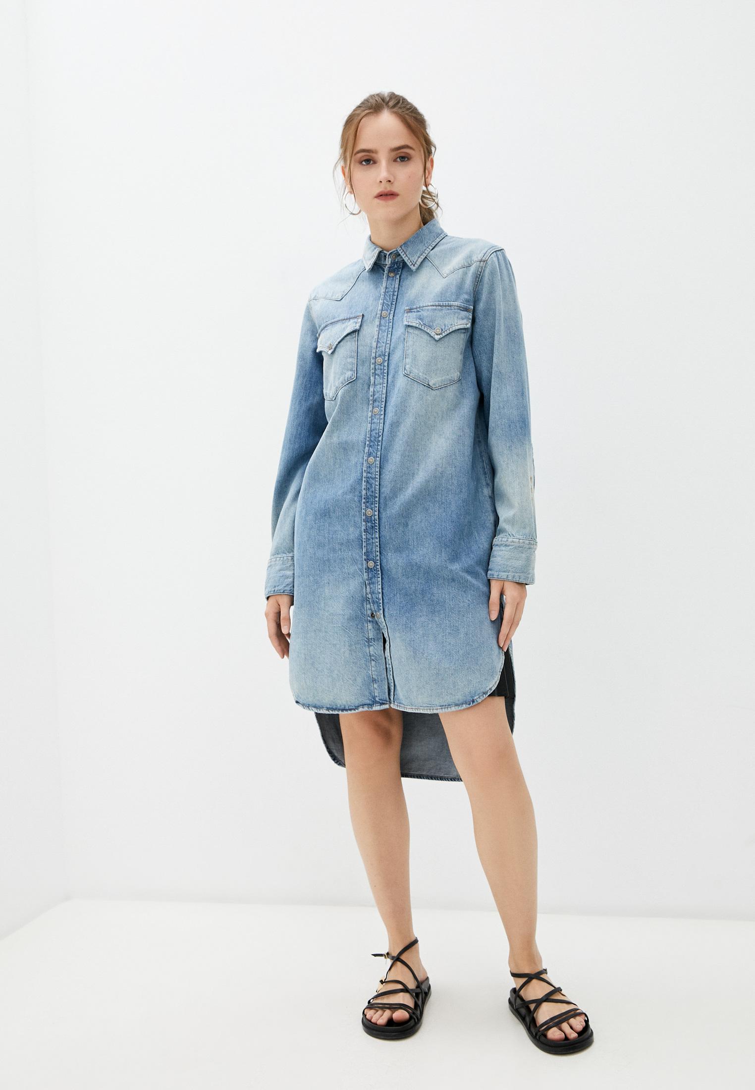 Сарафан Diesel (Дизель) Платье джинсовое Diesel