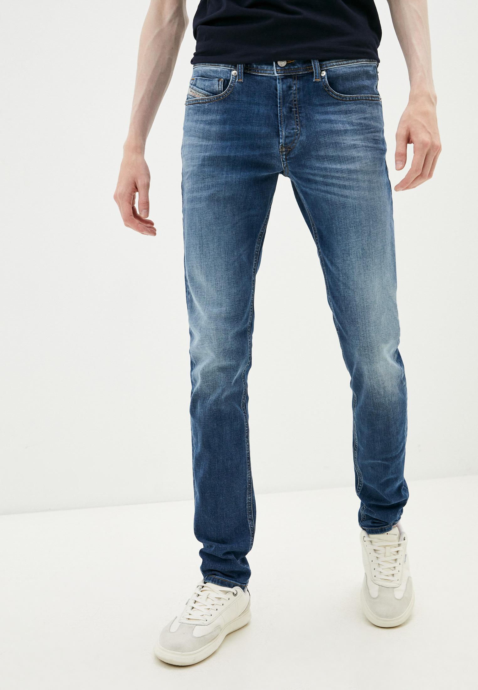 Мужские зауженные джинсы Diesel (Дизель) 00SWJG09A60