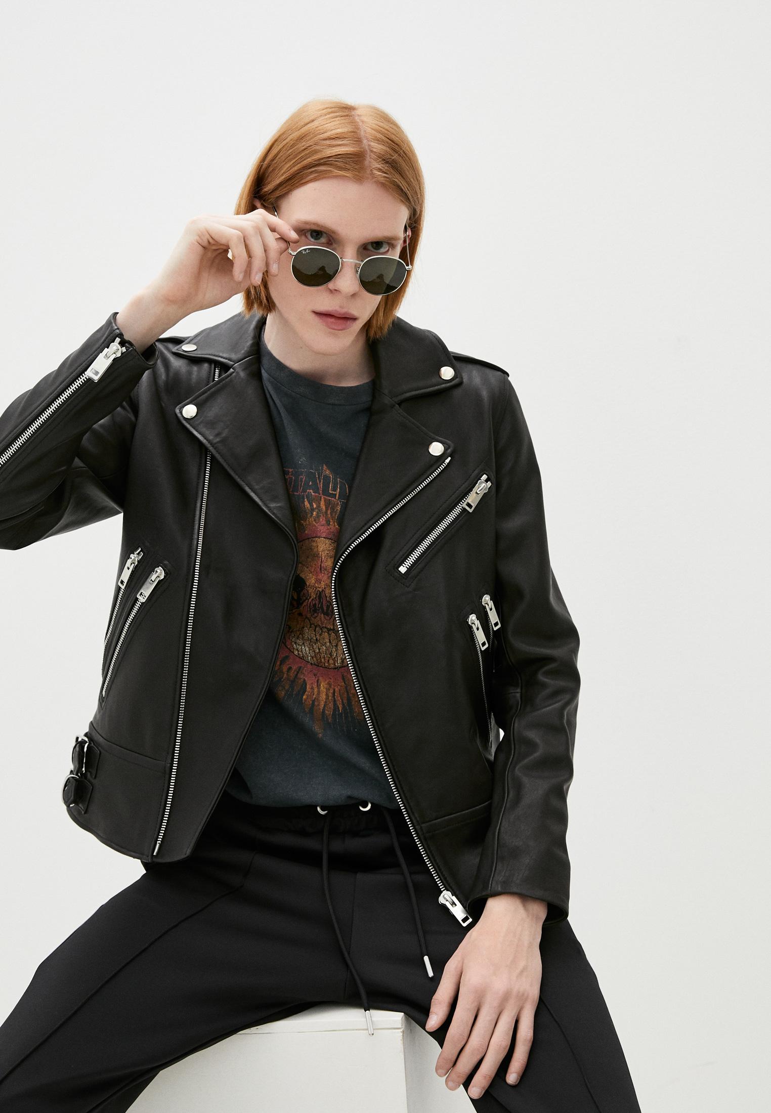 Кожаная куртка Diesel (Дизель) A027230BEAP