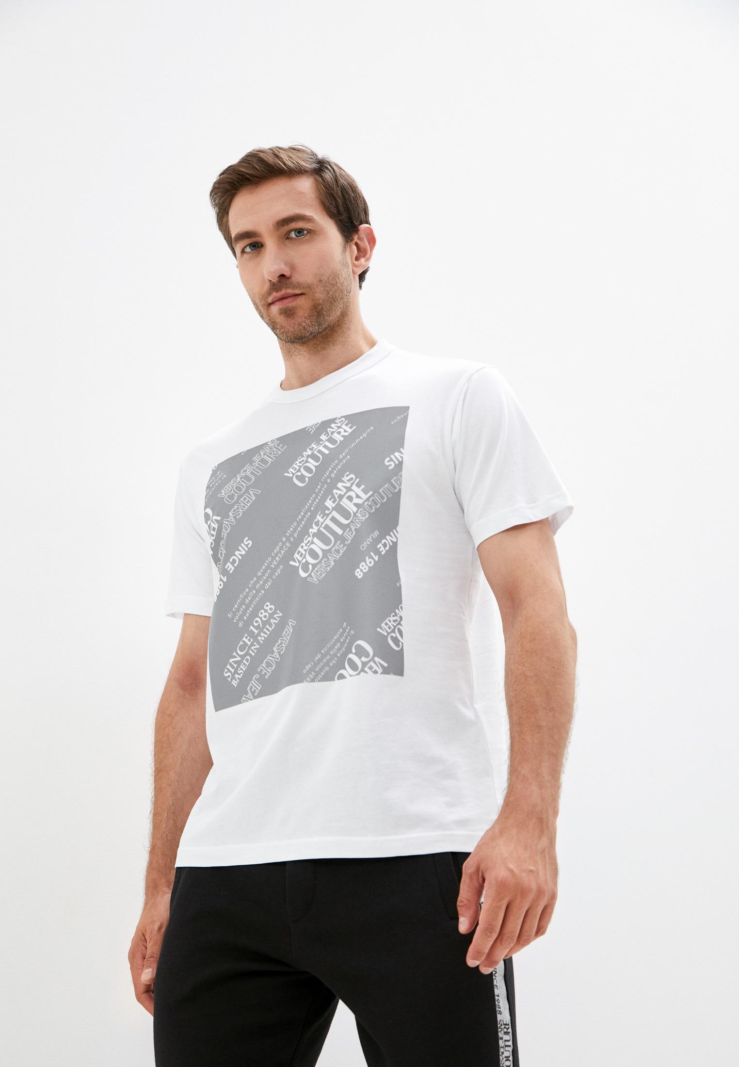 Футболка Versace Jeans Couture 71GAHT16CJ00T