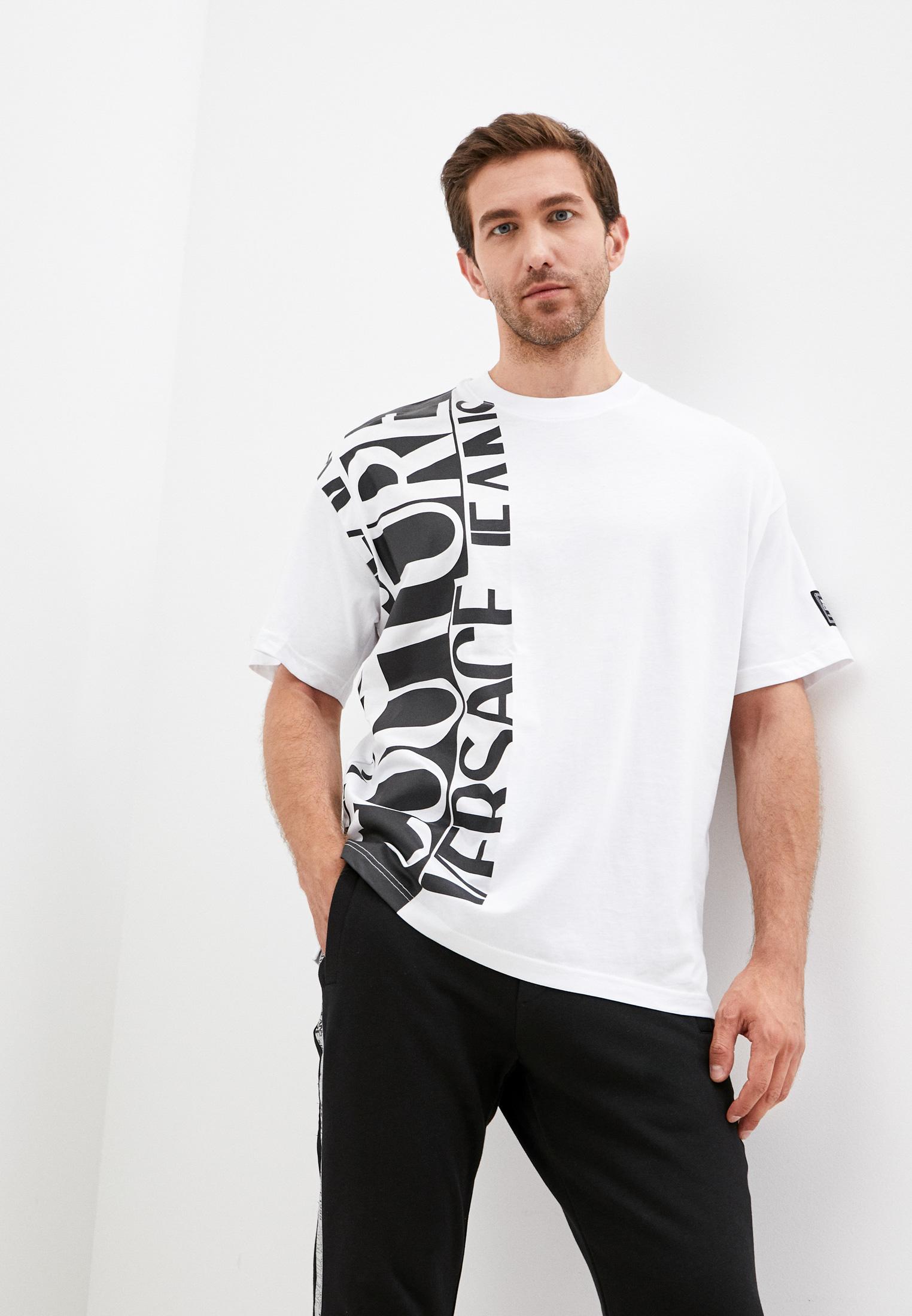 Футболка Versace Jeans Couture 71GAHT18CJ00T