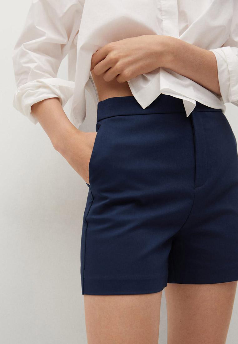 Женские повседневные шорты Mango (Манго) Хлопковые шорты с карманами - Malu-h