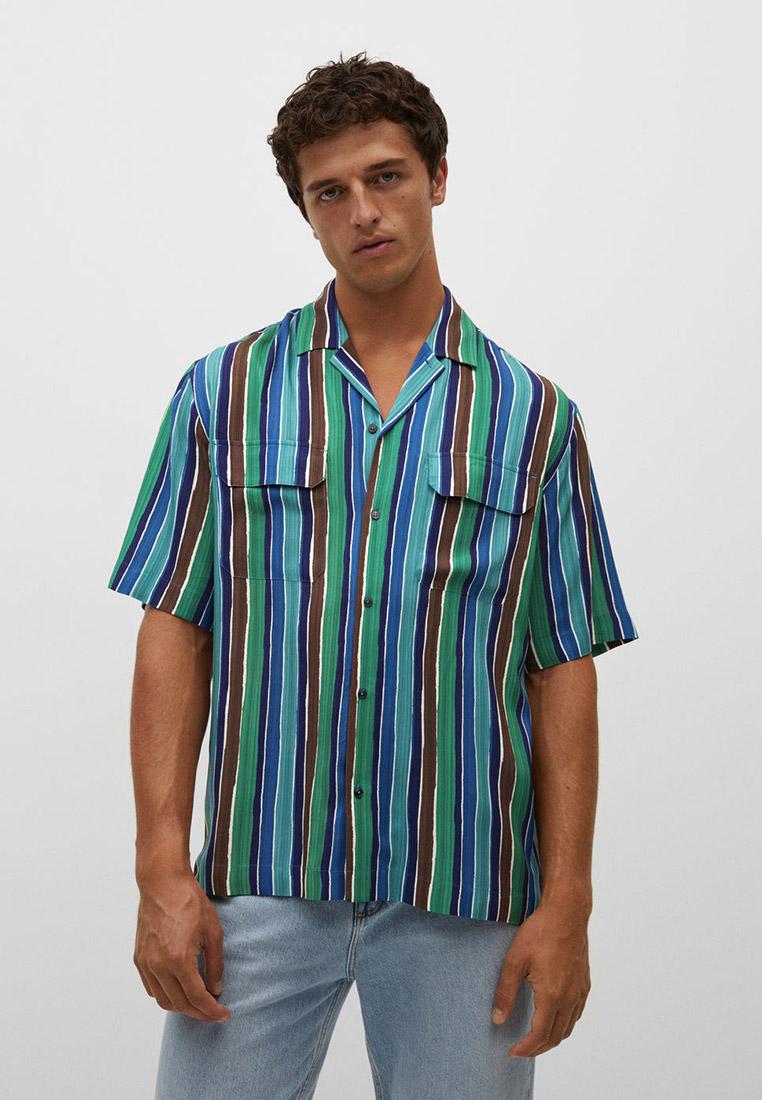 Рубашка с коротким рукавом Mango Man Рубашка Mango Man