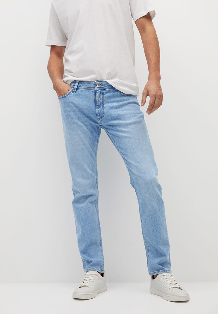 Зауженные джинсы Mango Man 17002011