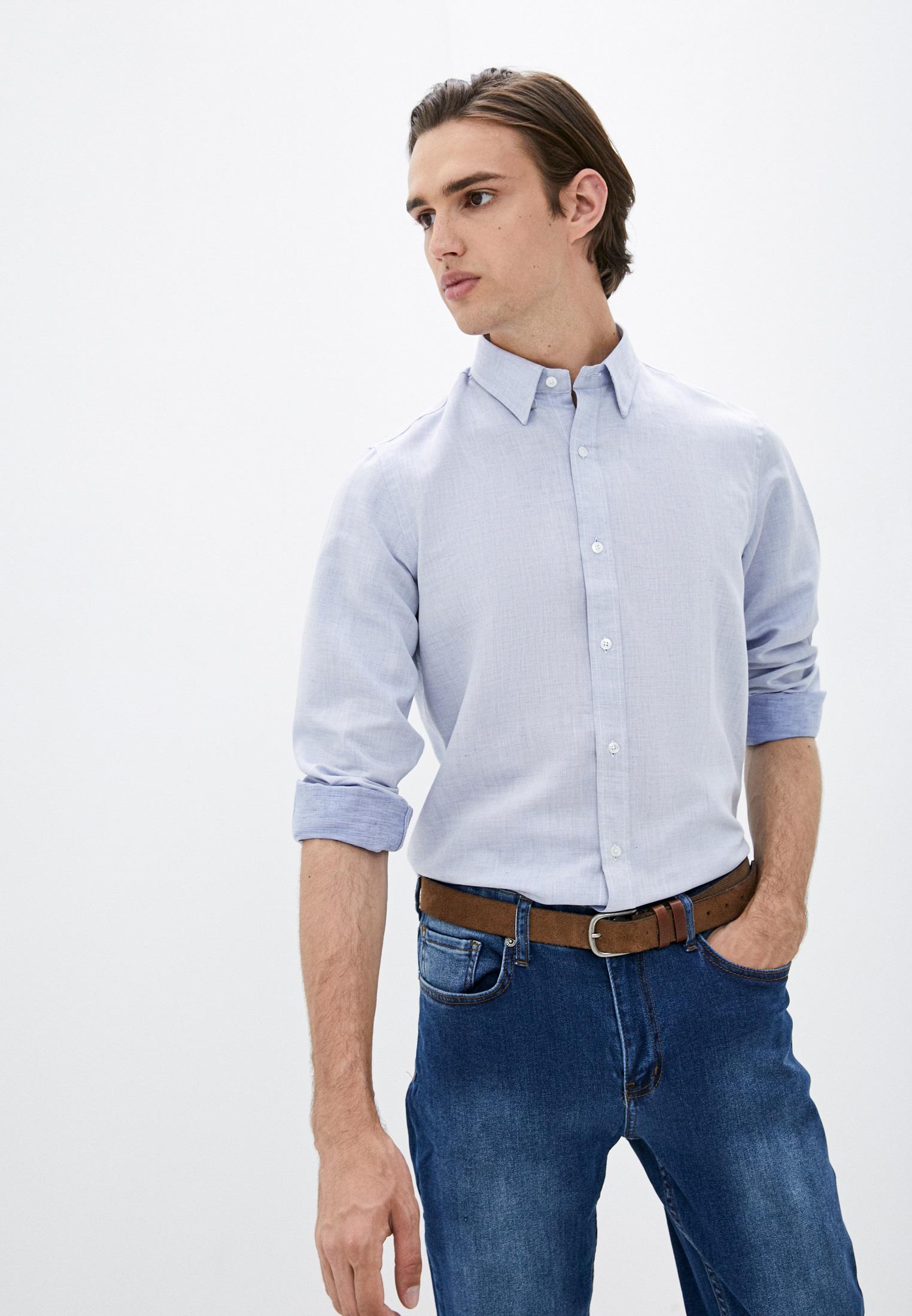 Рубашка с длинным рукавом Basics & More Рубашка Basics & More