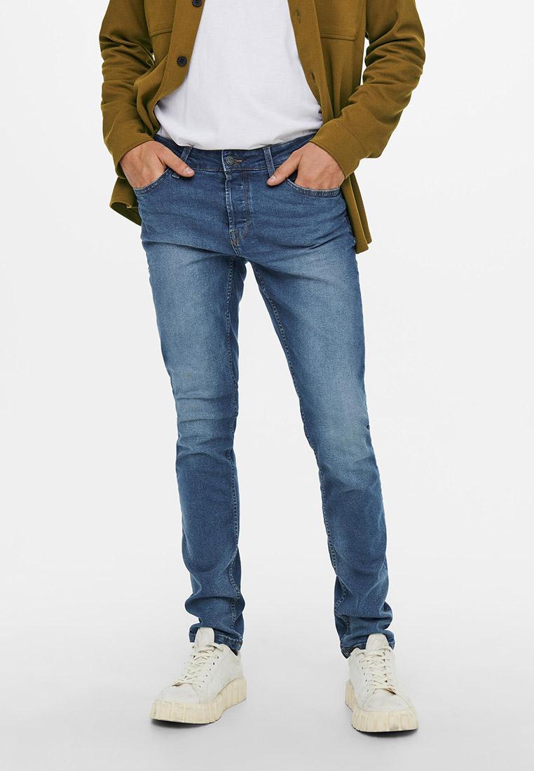 Зауженные джинсы Only & Sons (Онли Энд Санс) 22020481