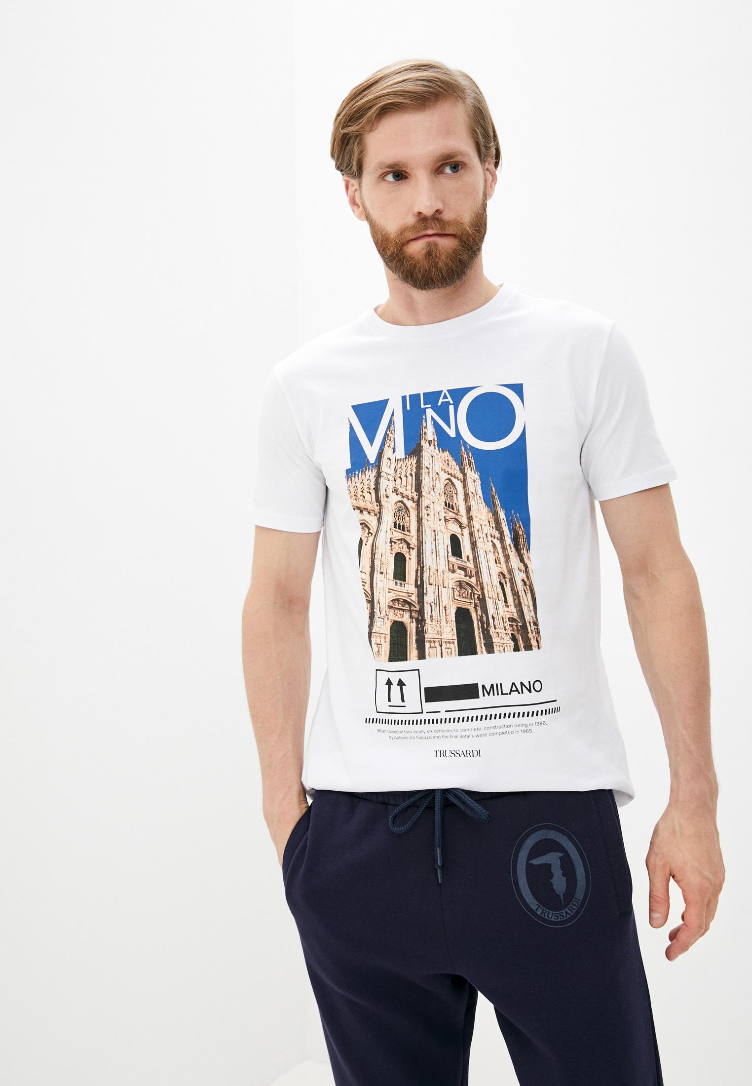 Мужская футболка Trussardi (Труссарди) 52T00533-1T005328
