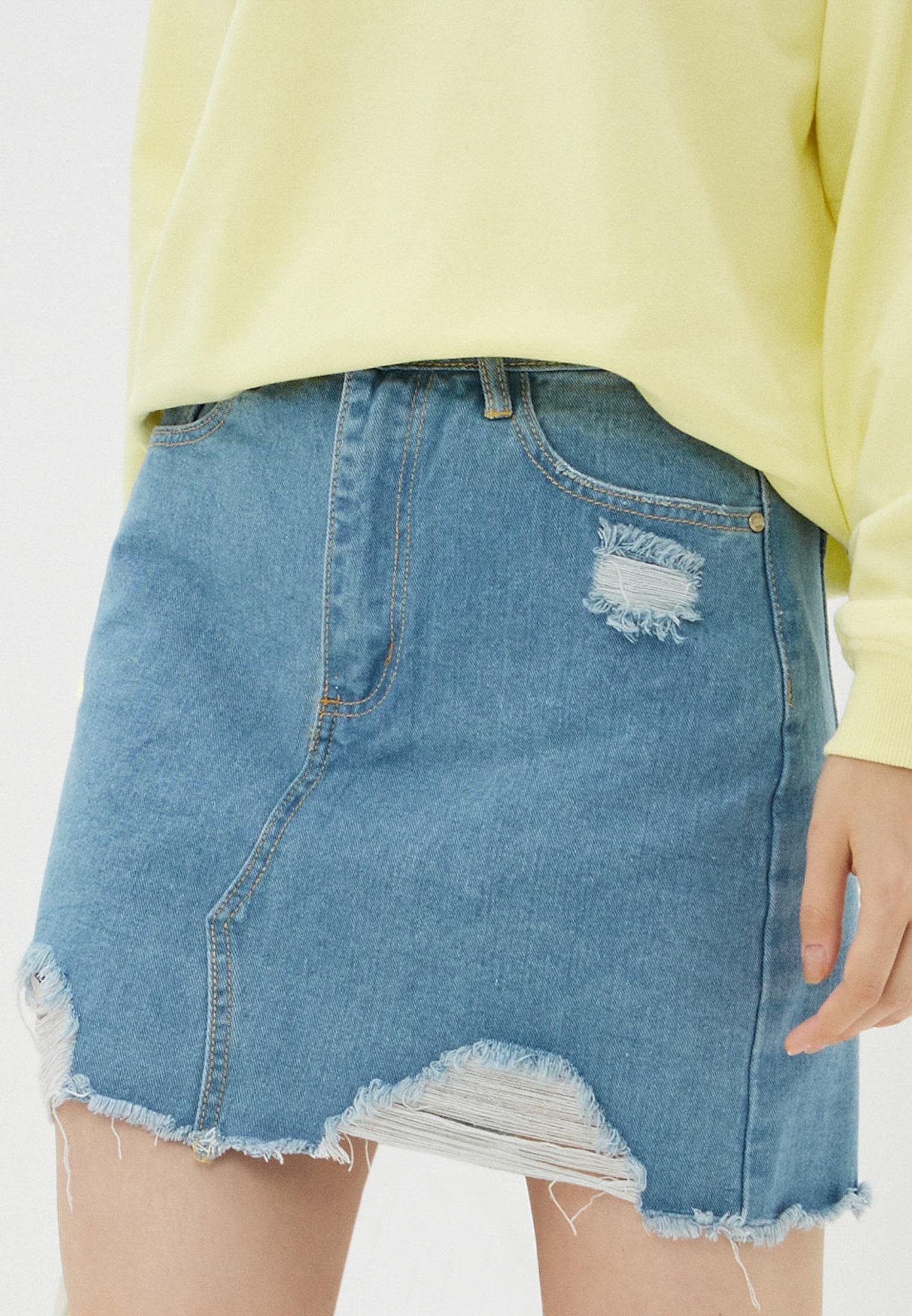 Джинсовая юбка MISSGUIDED G1806200