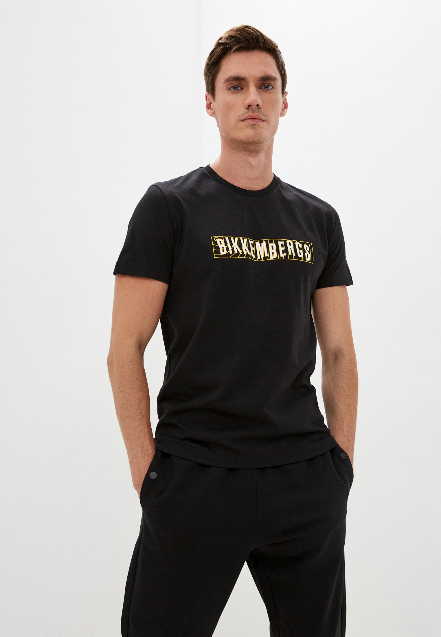 Мужская футболка Bikkembergs (Биккембергс) C 4 101 45 M 4298