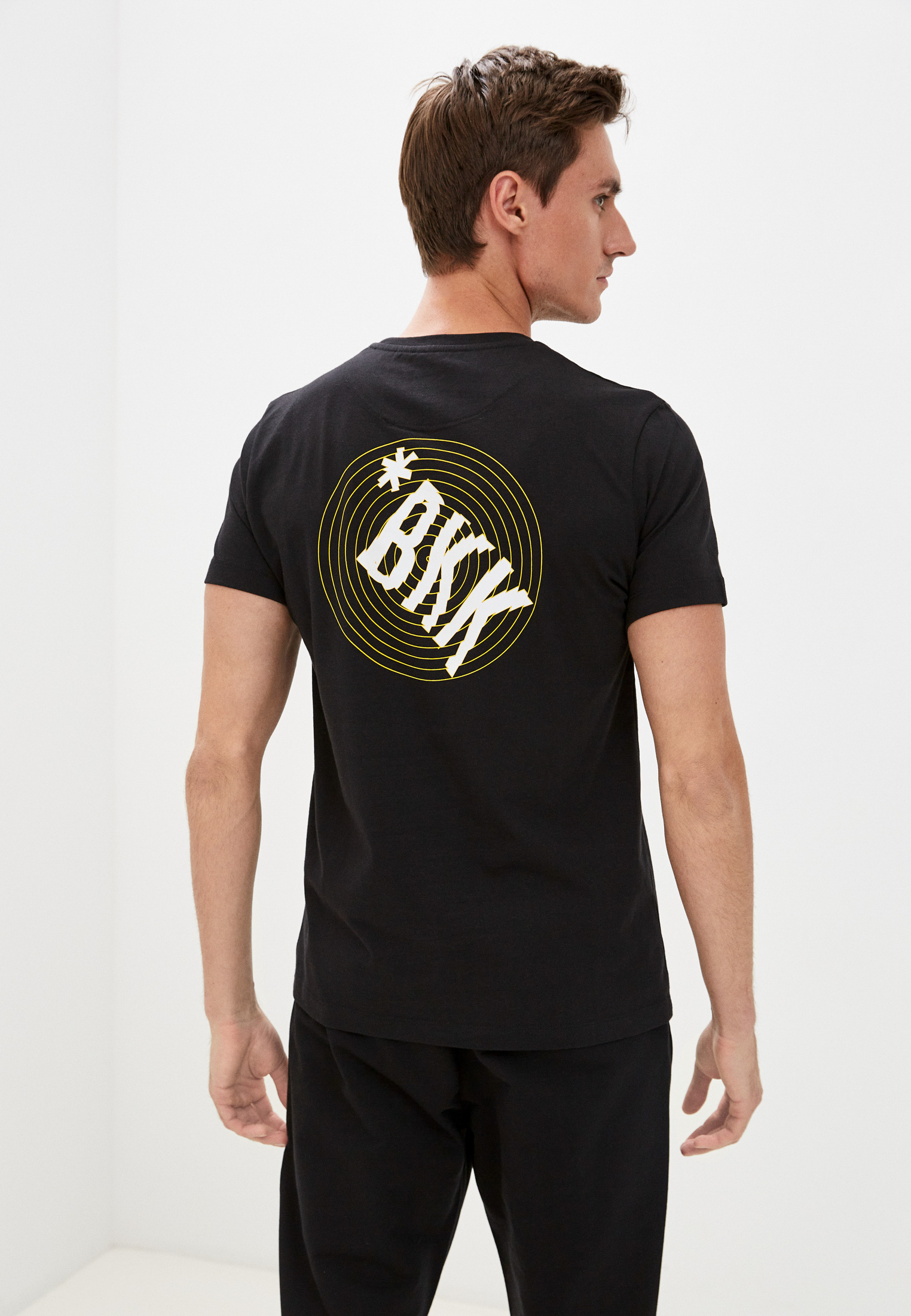 Мужская футболка Bikkembergs (Биккембергс) C 4 101 45 M 4298: изображение 4