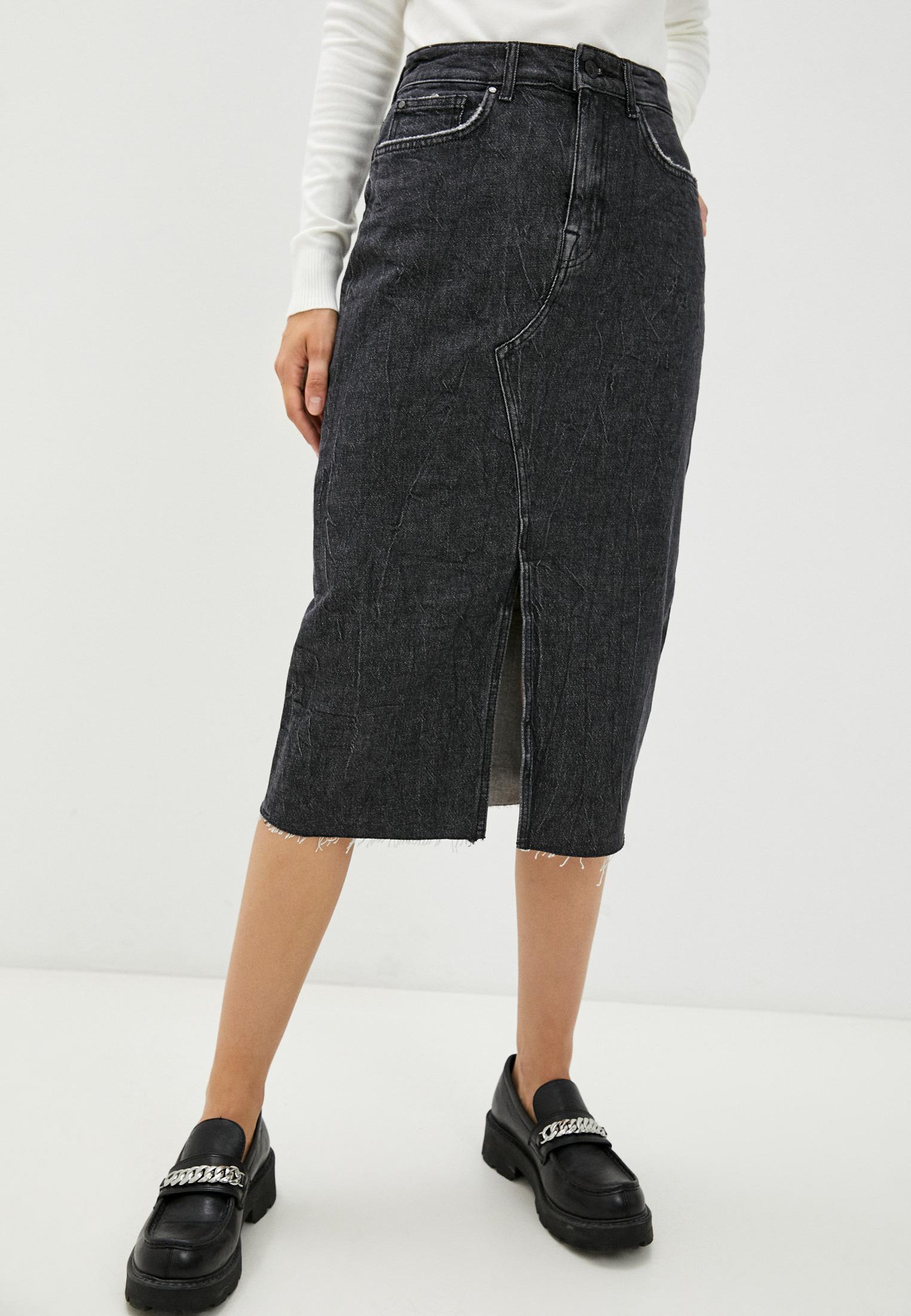 Джинсовая юбка Guess Jeans Юбка джинсовая Guess Jeans