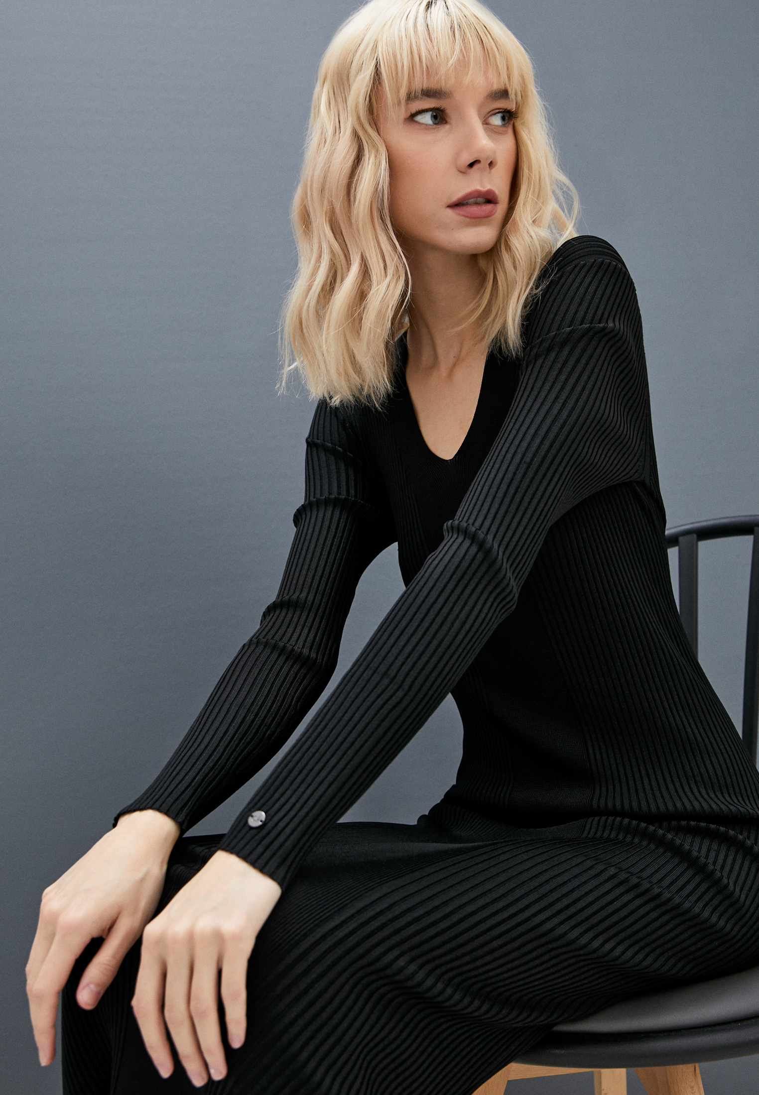 Вязаное платье Calvin Klein (Кельвин Кляйн) K20K203005: изображение 2