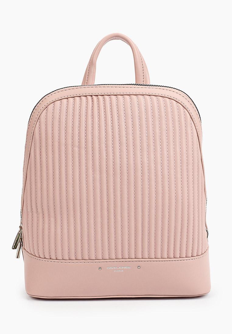 Городской рюкзак David Jones (Дэвид Джонс) 6523-3_розовый