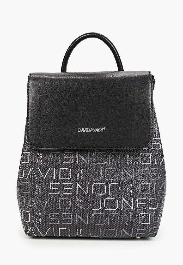 Городской рюкзак David Jones (Дэвид Джонс) 6534-1_черный