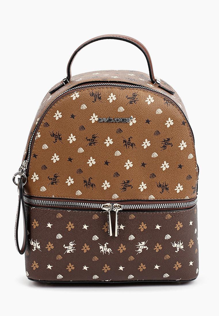 Городской рюкзак David Jones (Дэвид Джонс) CM6129_рыжий