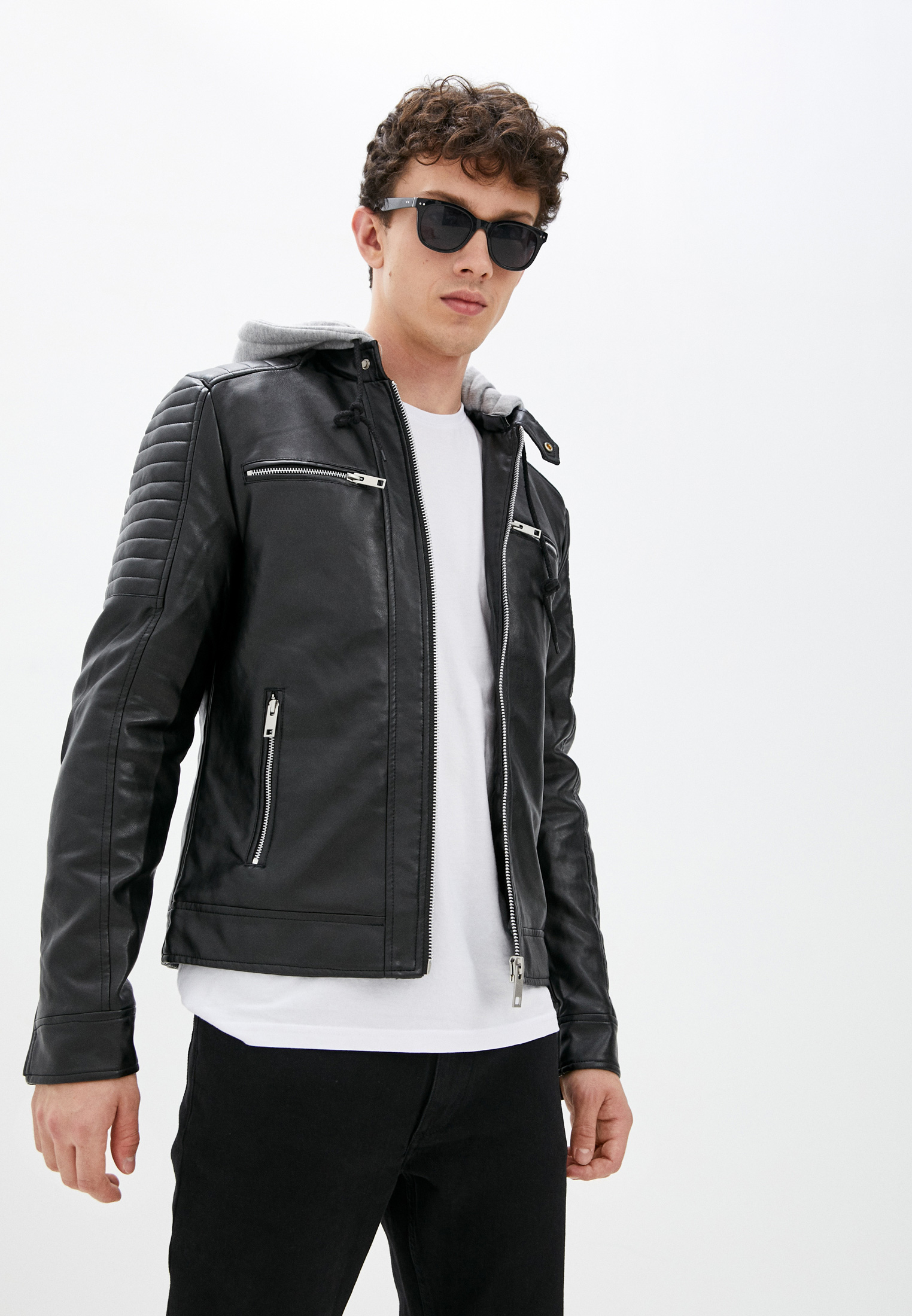 Кожаная куртка Terance Kole Куртка кожаная Terance Kole