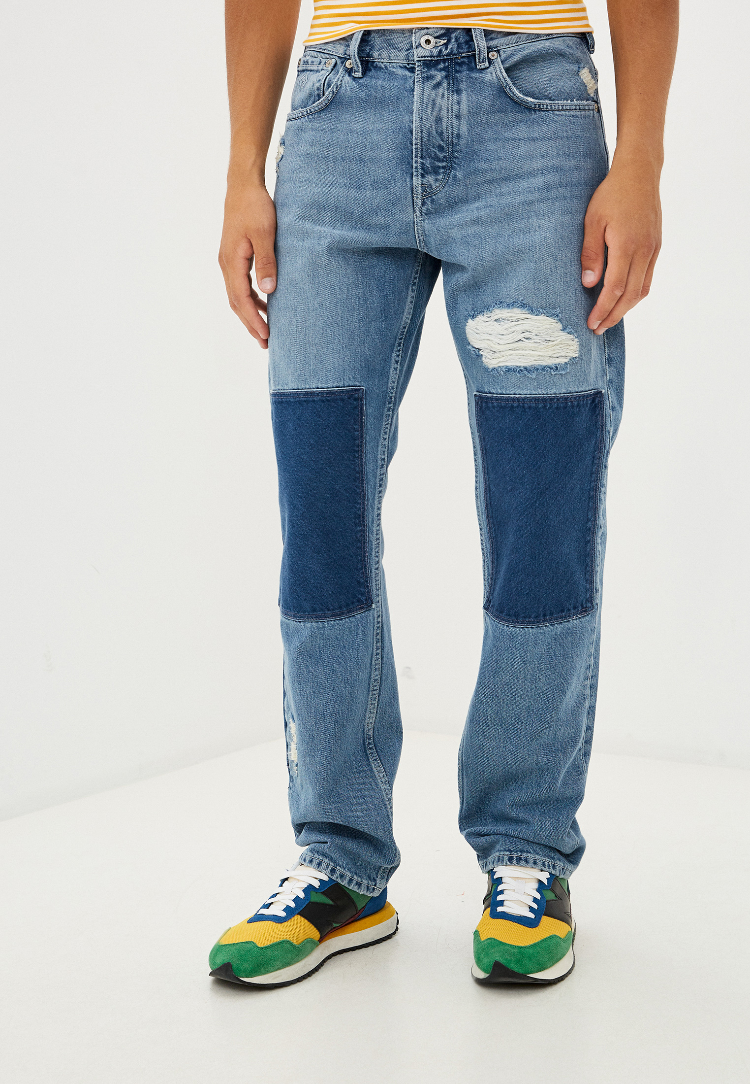 Мужские прямые джинсы Gant (Гант) 1000202