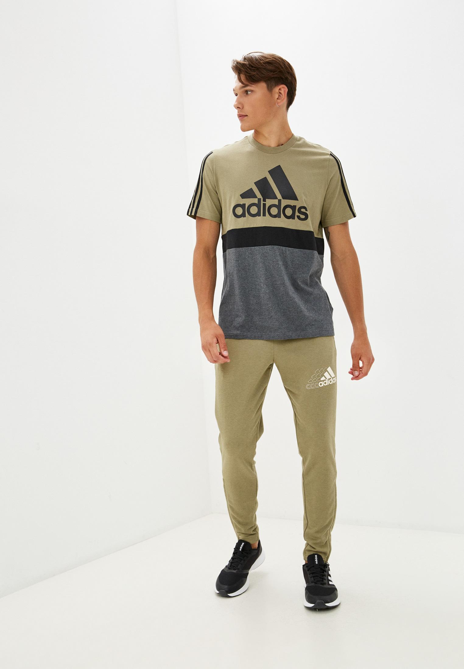 Мужские спортивные брюки Adidas (Адидас) H14653: изображение 2