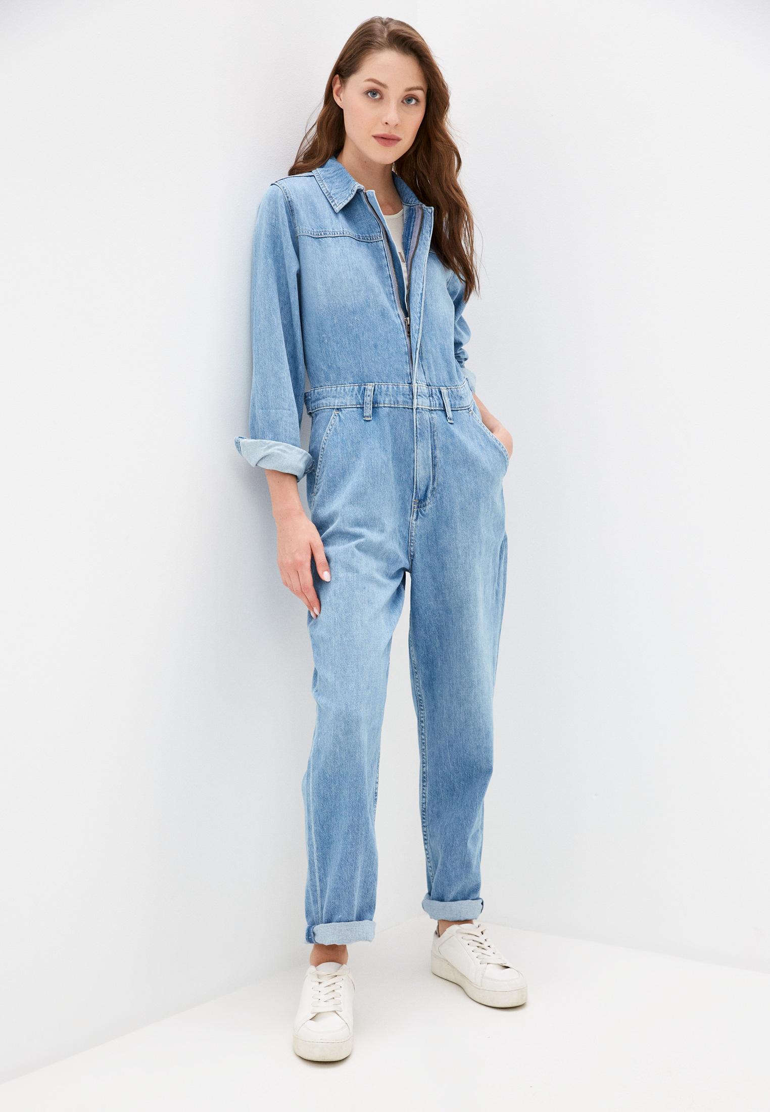 Комбинезон Calvin Klein Jeans Комбинезон джинсовый Calvin Klein Jeans