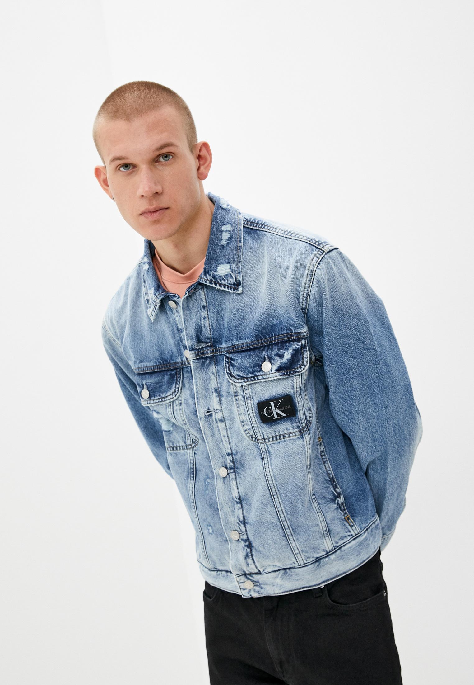 Джинсовая куртка Calvin Klein Jeans J30J318386