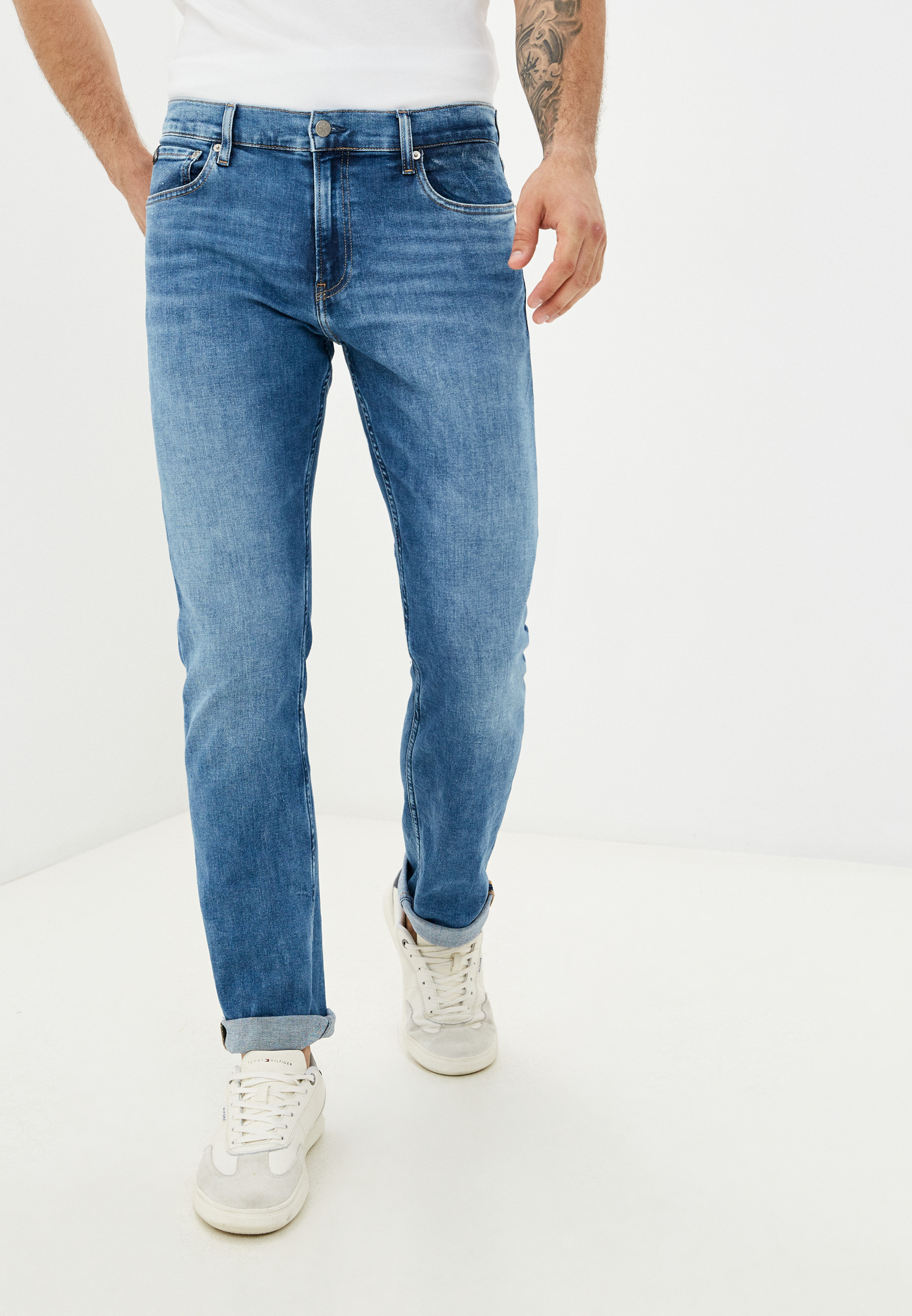 Мужские прямые джинсы Calvin Klein Jeans J30J318445: изображение 1