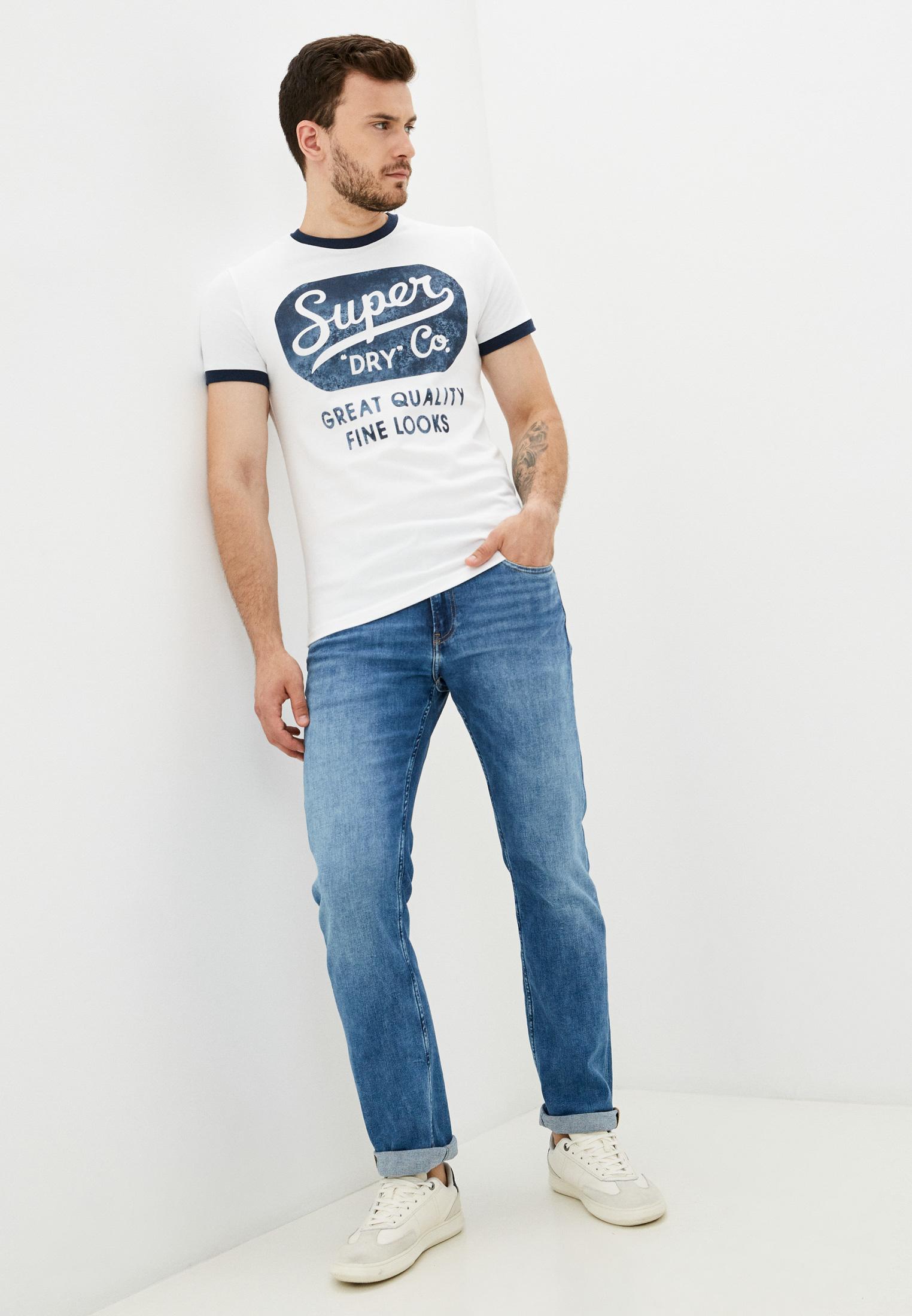 Мужские прямые джинсы Calvin Klein Jeans J30J318445: изображение 2